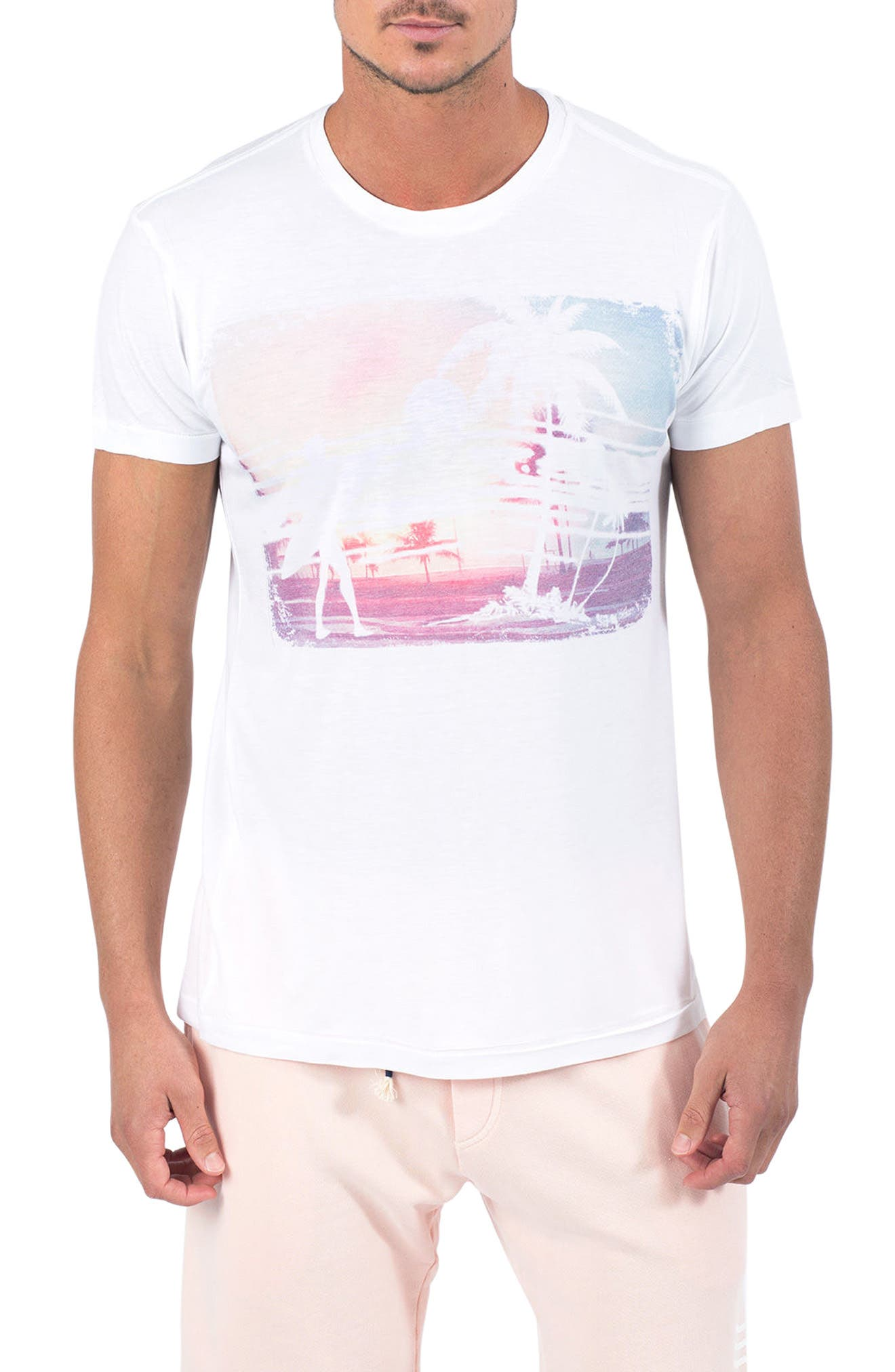Wash Out Graphic T-Shirt,                         Main,                         color, 100