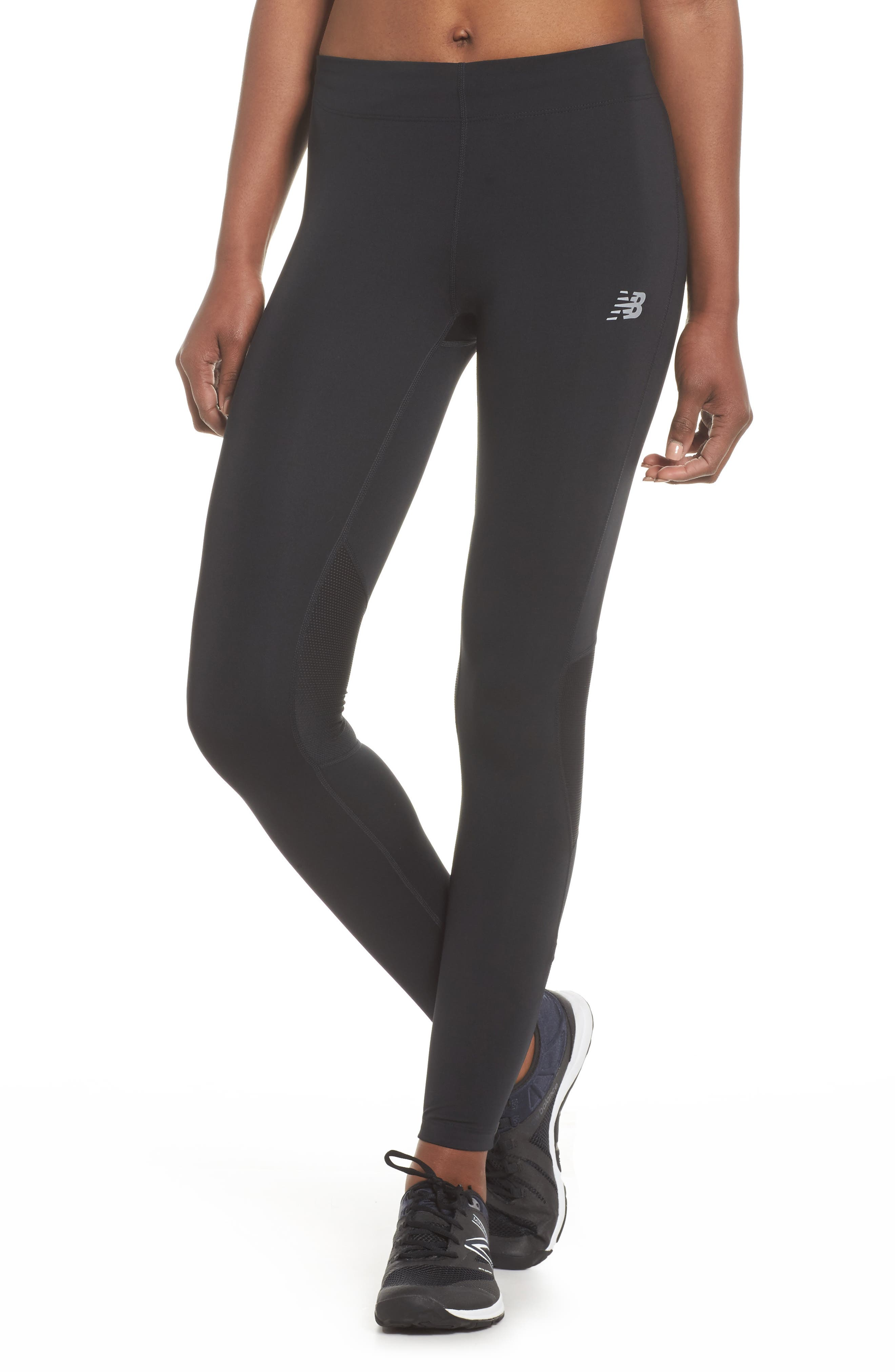 Impact Premium Running Tights,                             Main thumbnail 1, color,                             001