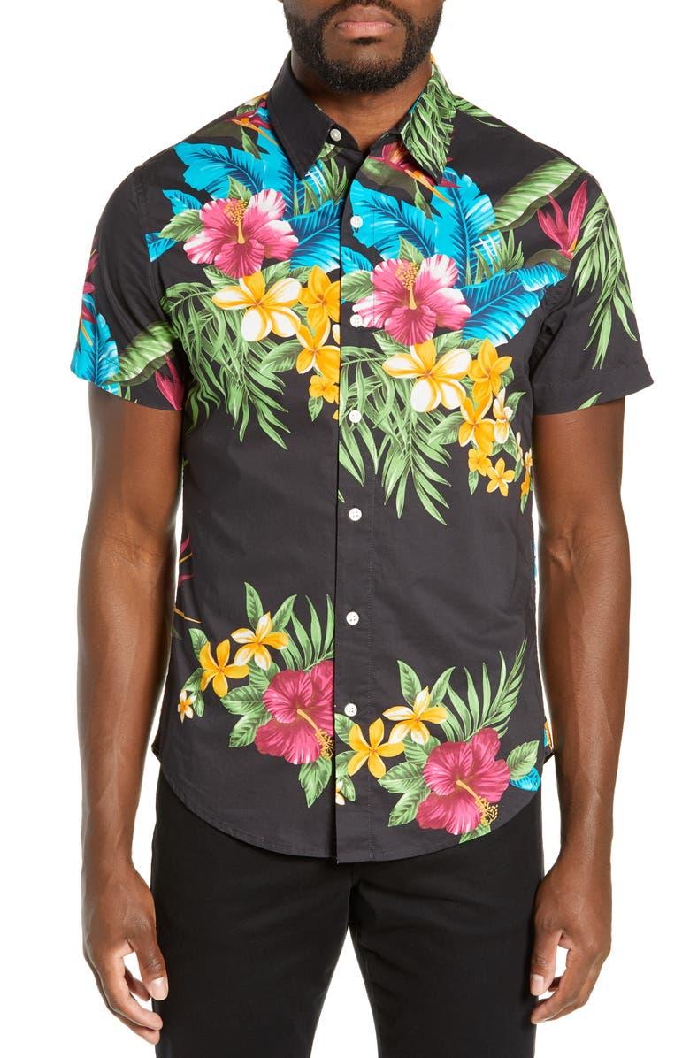 39f5a4645145 Bonobos Riviera Slim Fit Holiday Tropics Sport Shirt .