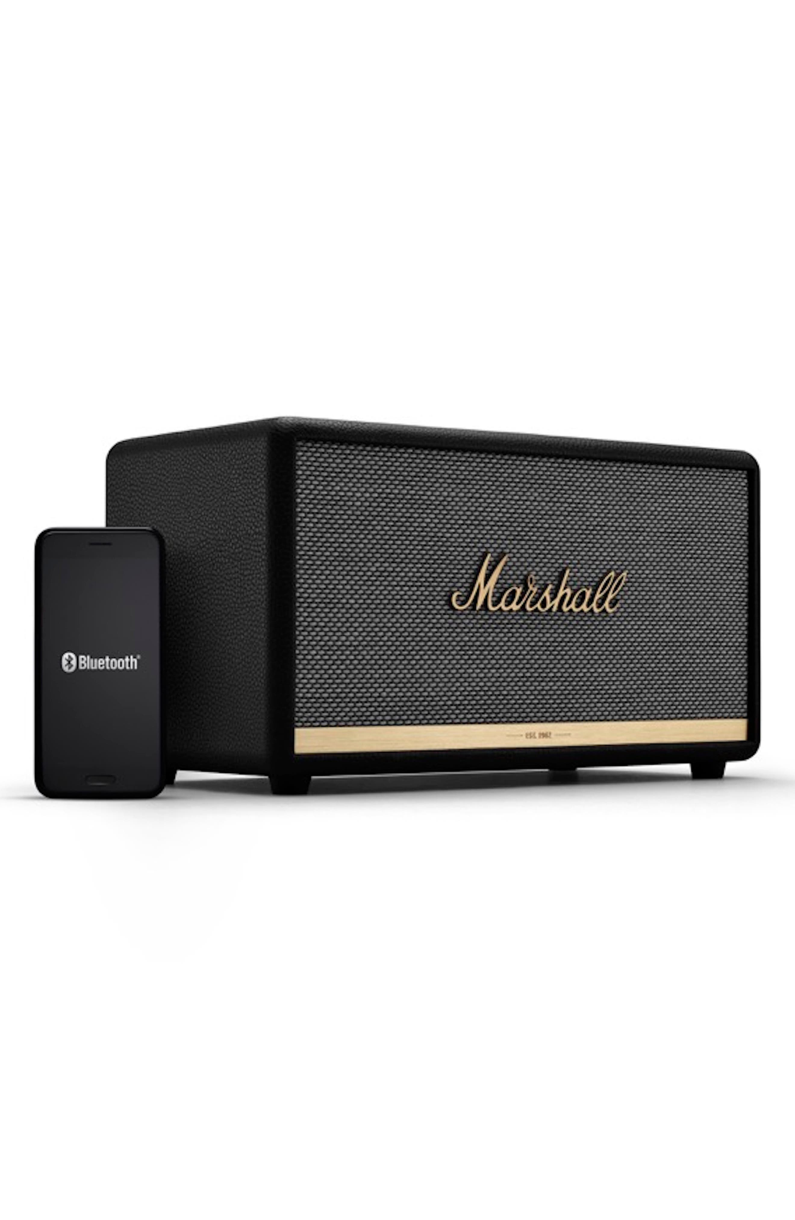 MARSHALL,                             Stanmore II Bluetooth<sup>®</sup> Speaker,                             Alternate thumbnail 3, color,                             BLACK