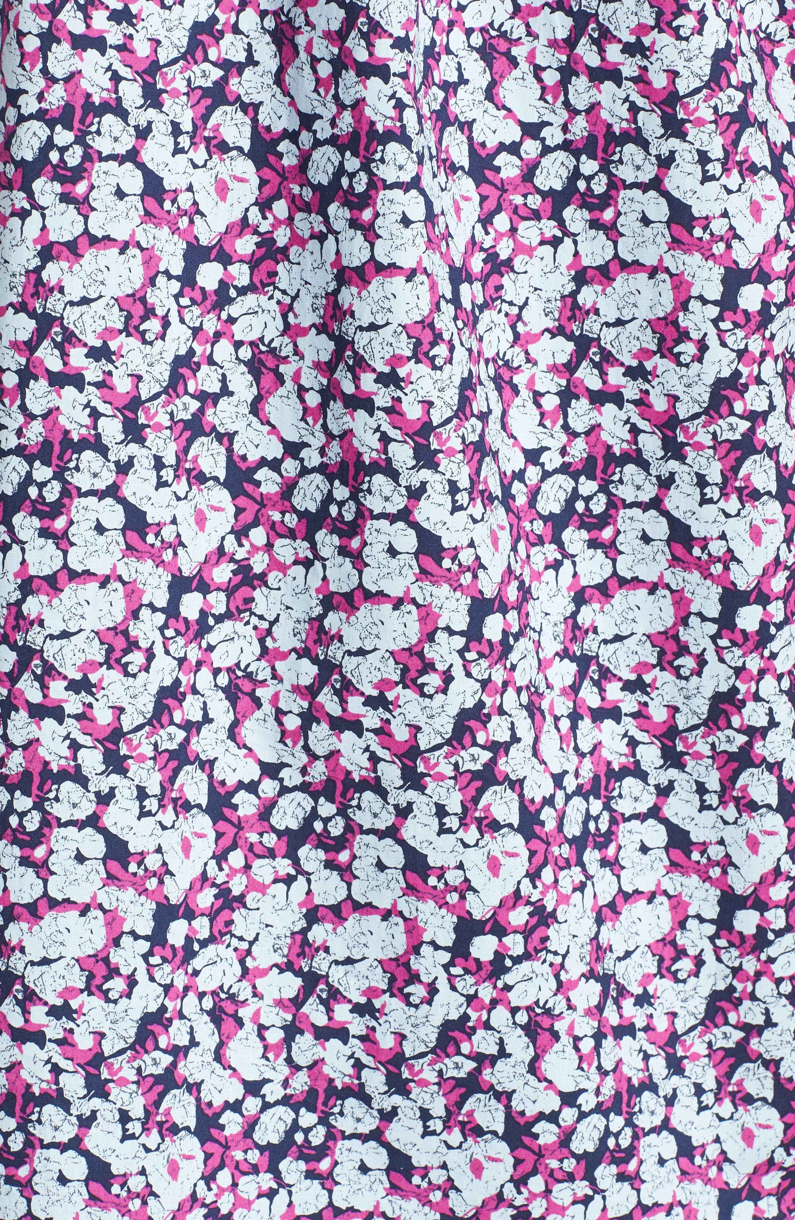Print Woven Short Sleeve Shirt,                             Alternate thumbnail 5, color,                             655