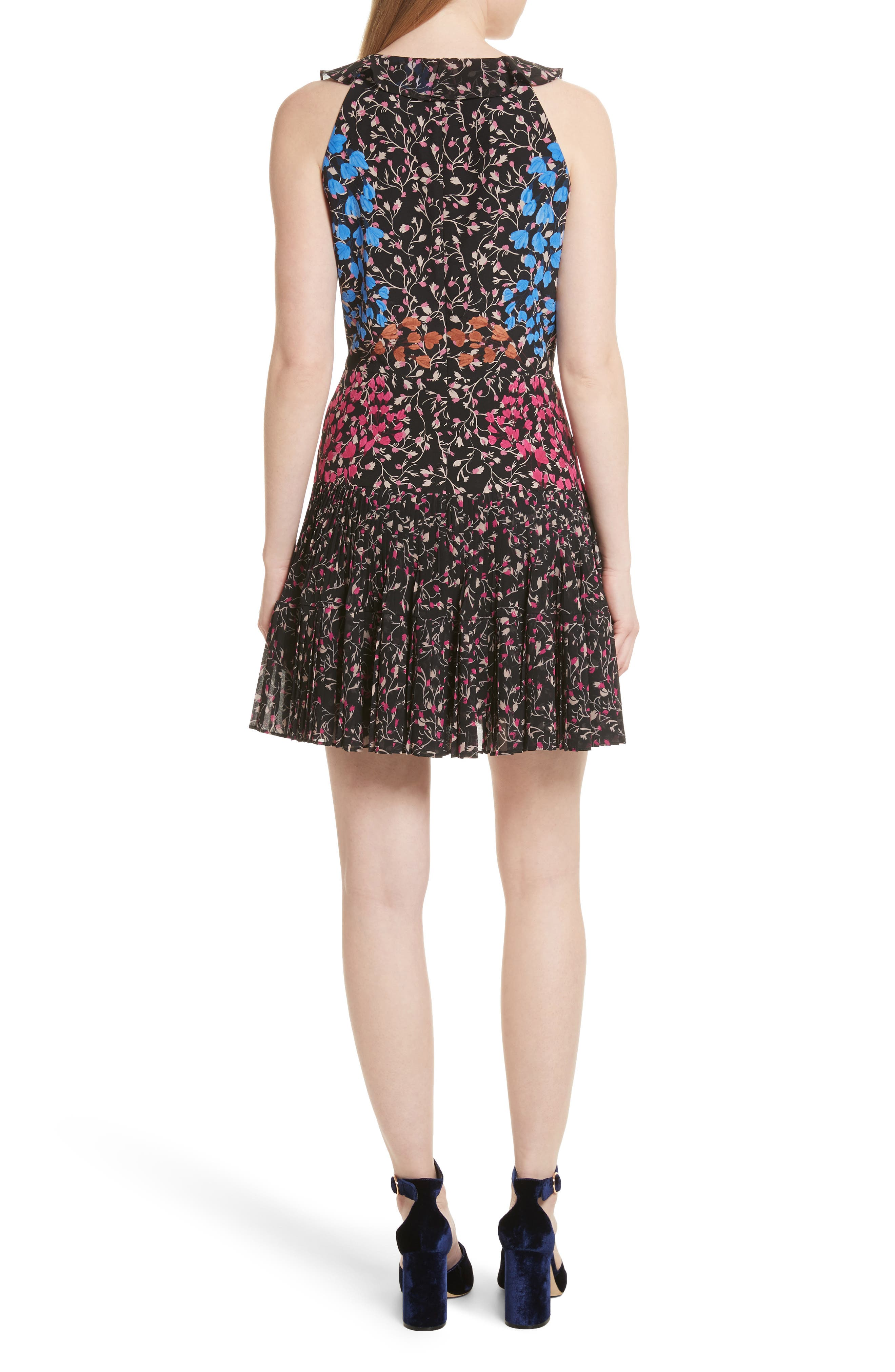 Amy Fit & Flare Dress,                             Alternate thumbnail 2, color,                             005