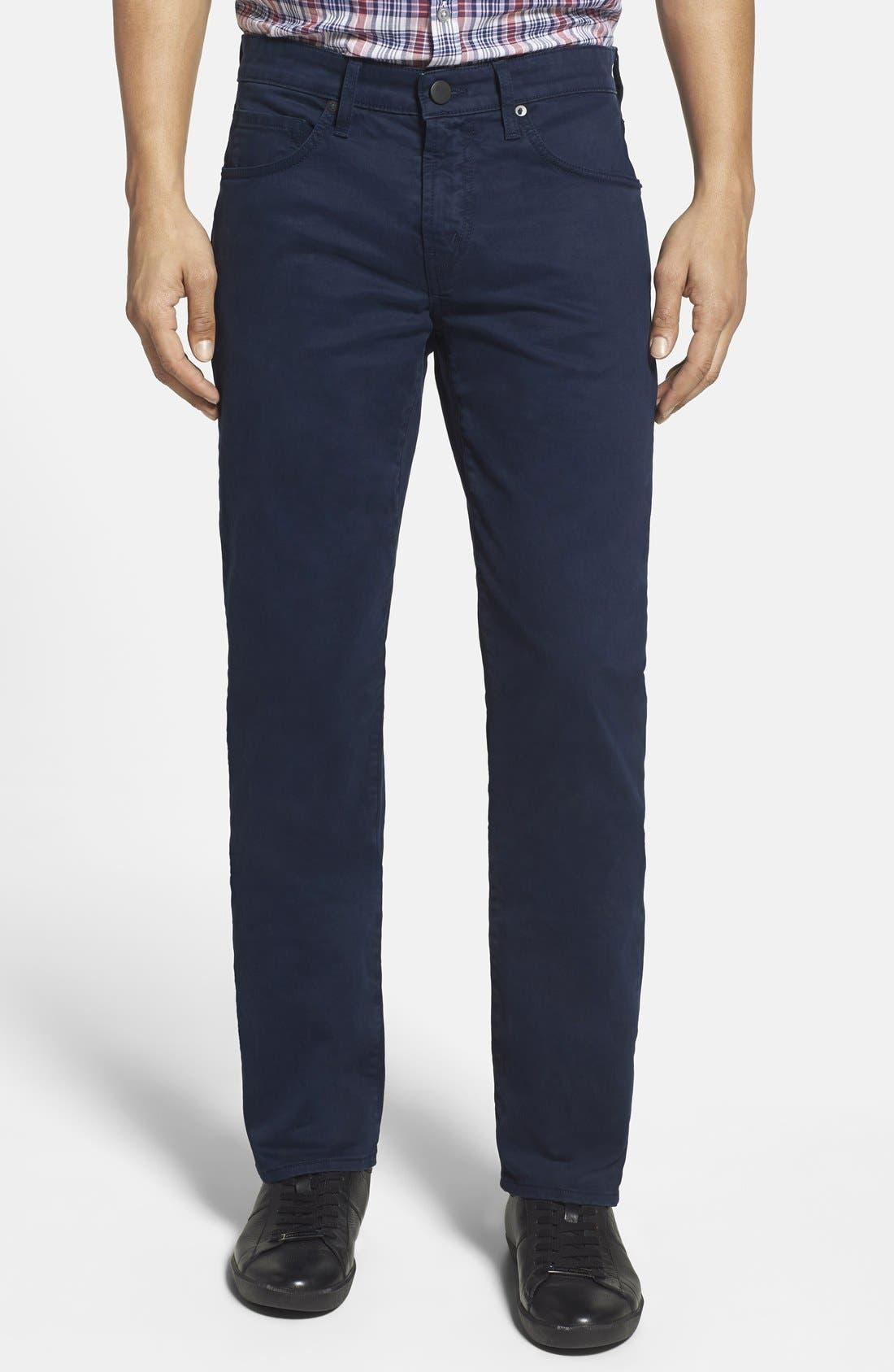 'Kane' Slim Fit Cotton Twill Pants,                             Main thumbnail 16, color,