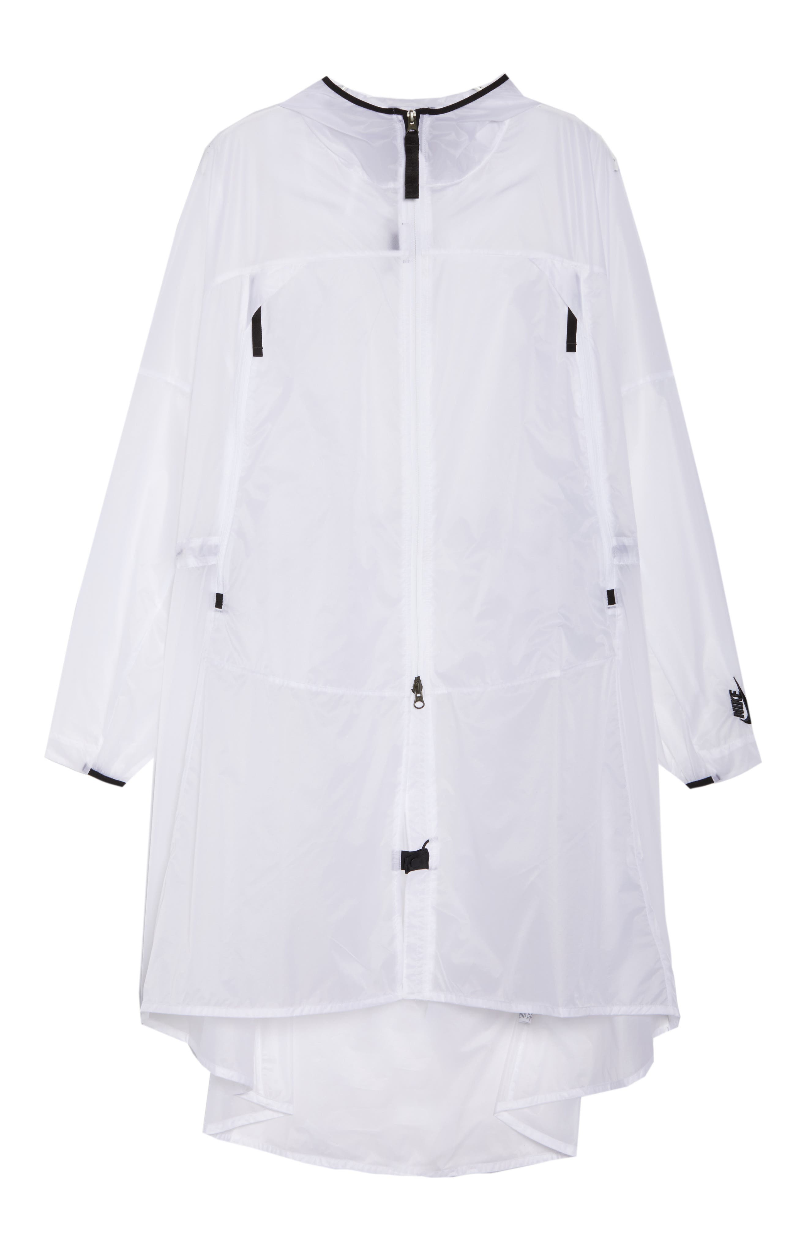 NikeLab Women's Translucent Parka,                             Alternate thumbnail 6, color,                             100