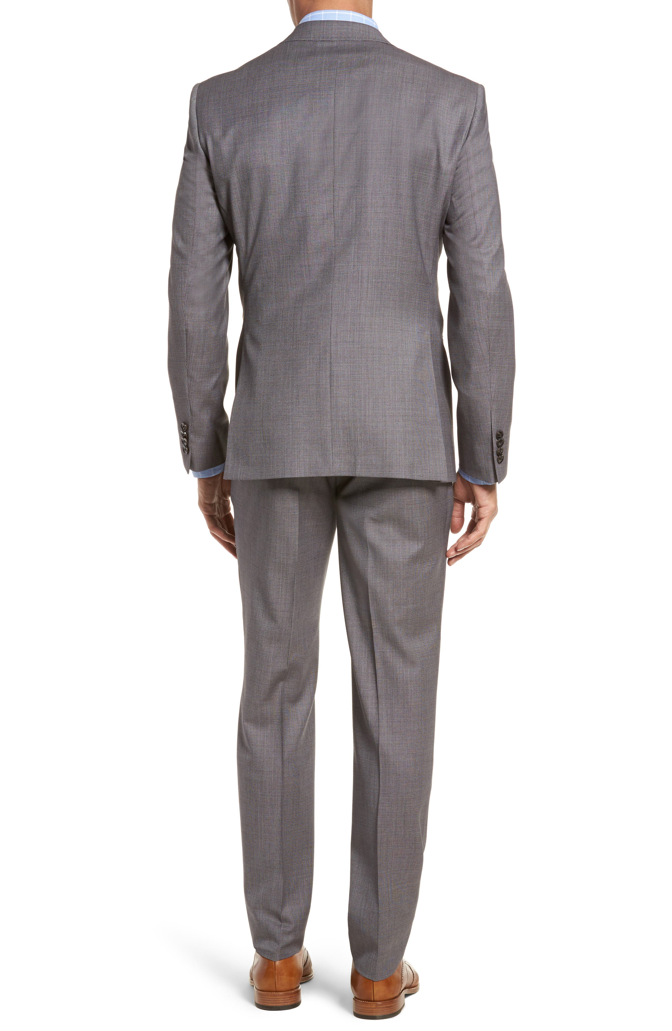 Roger Extra Slim Fit Solid Wool Suit,                             Alternate thumbnail 2, color,
