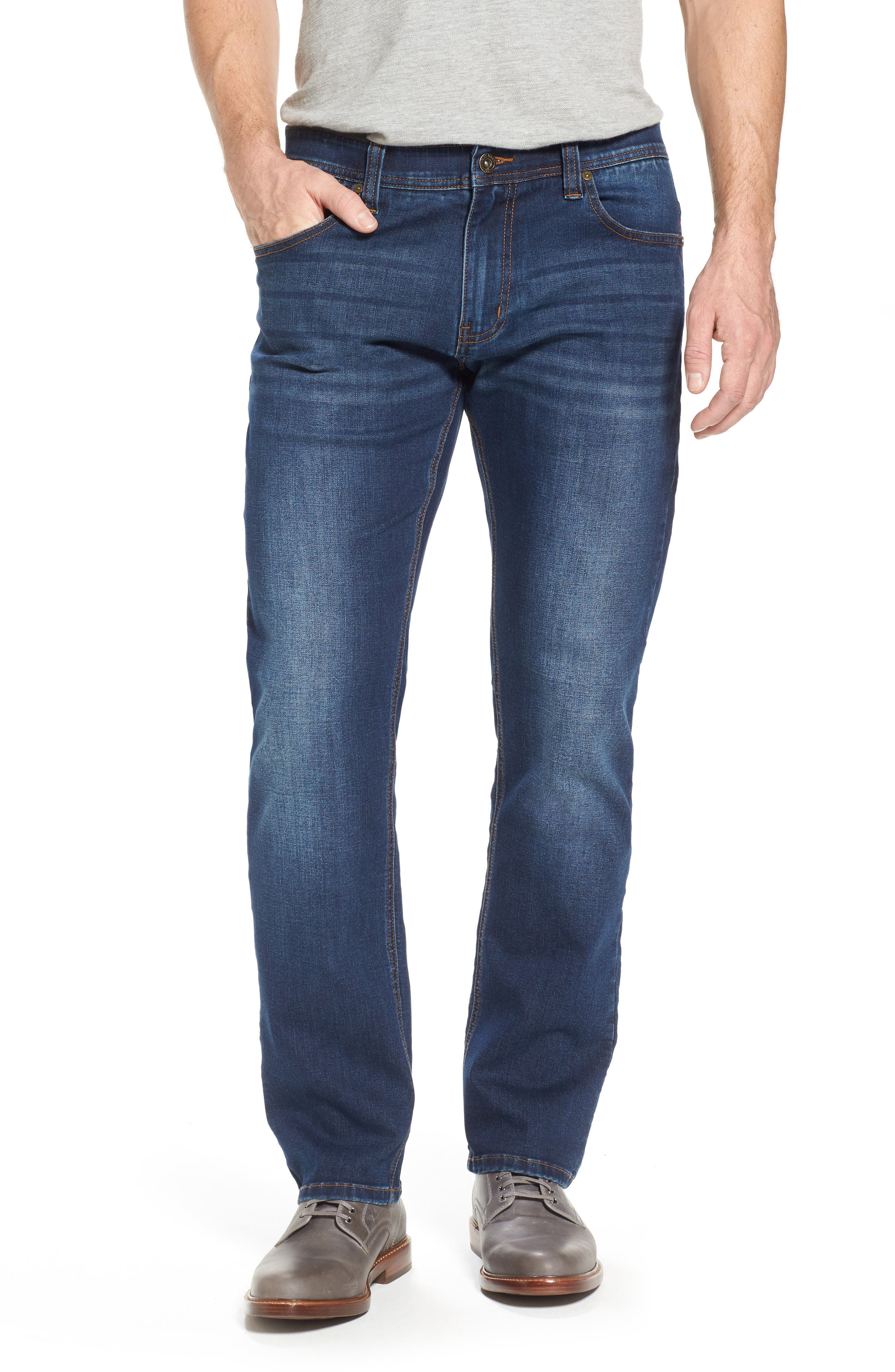 Maverick Stretch Slim Fit Jeans,                             Main thumbnail 1, color,                             400