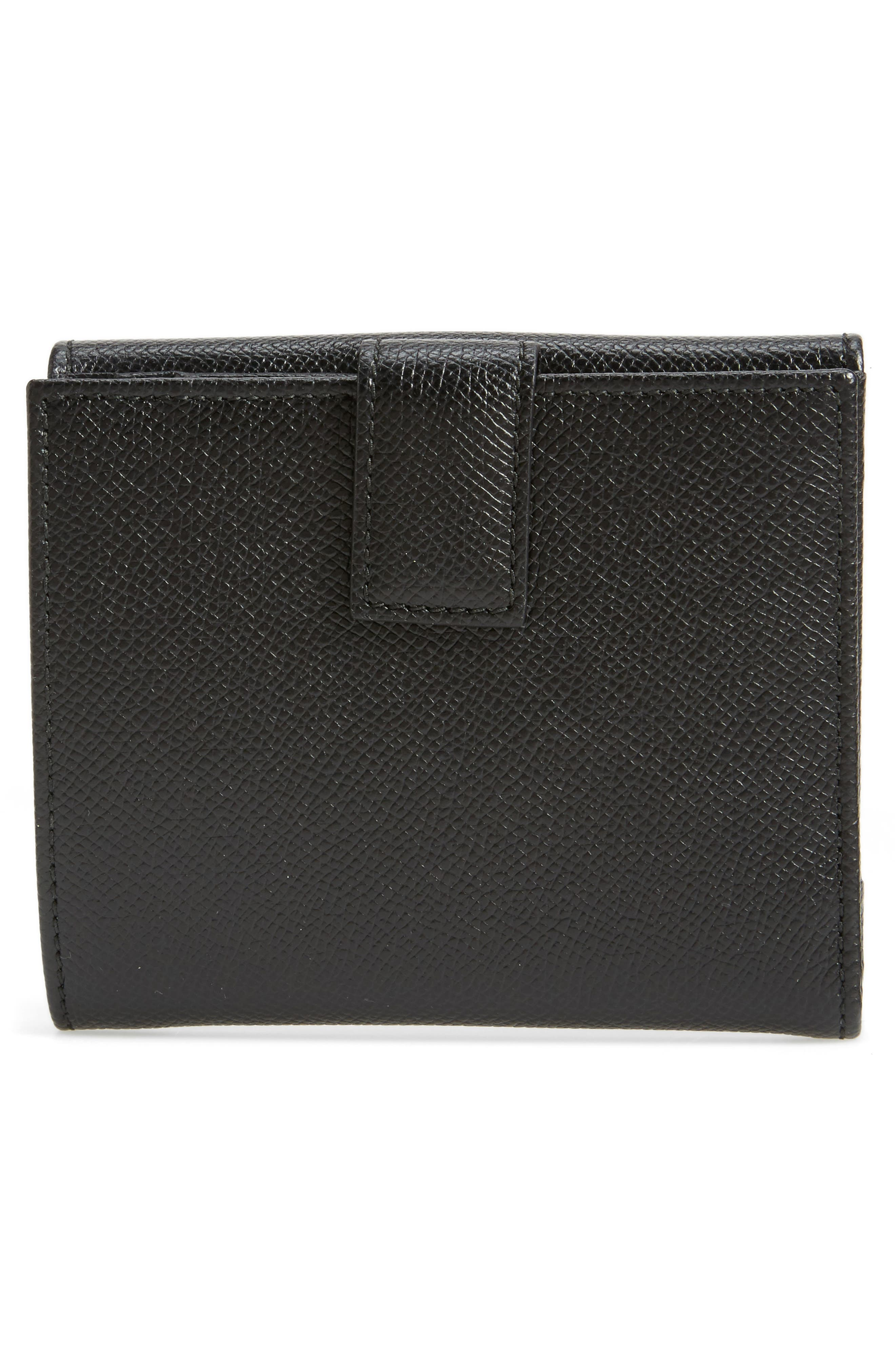 Icona Medium French Wallet,                             Alternate thumbnail 4, color,                             070