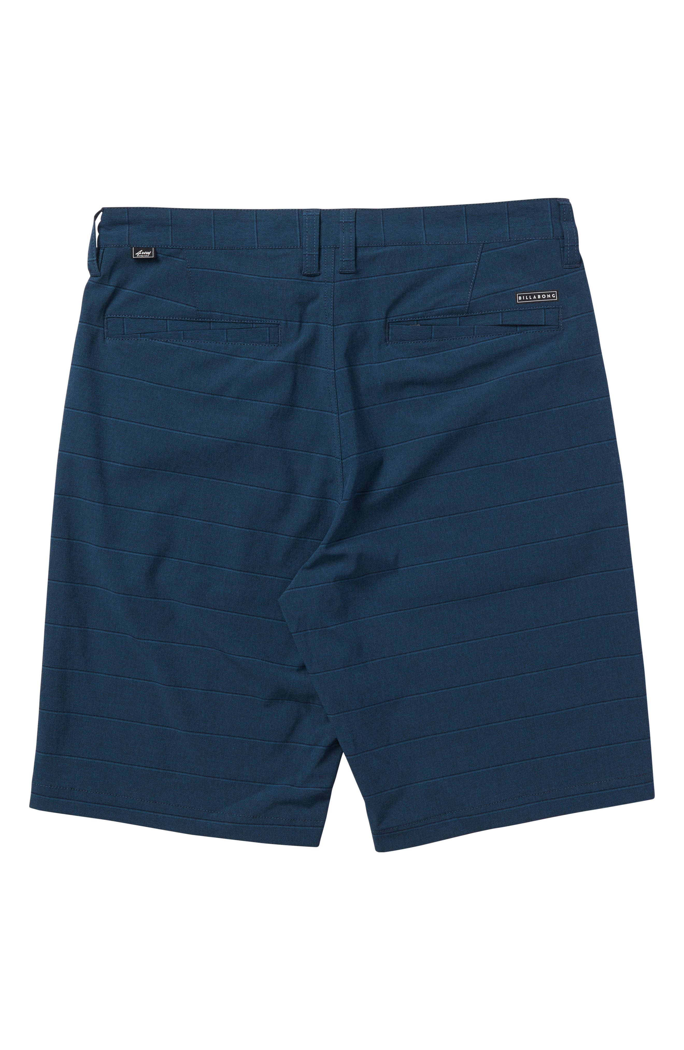 Crossfire X Stripe Hybrid Shorts,                             Alternate thumbnail 4, color,