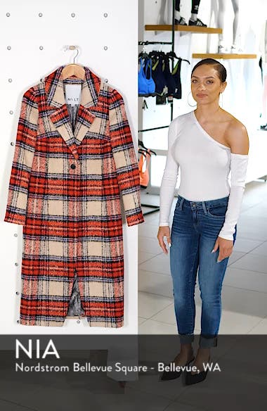 Plaid Long Coat, sales video thumbnail