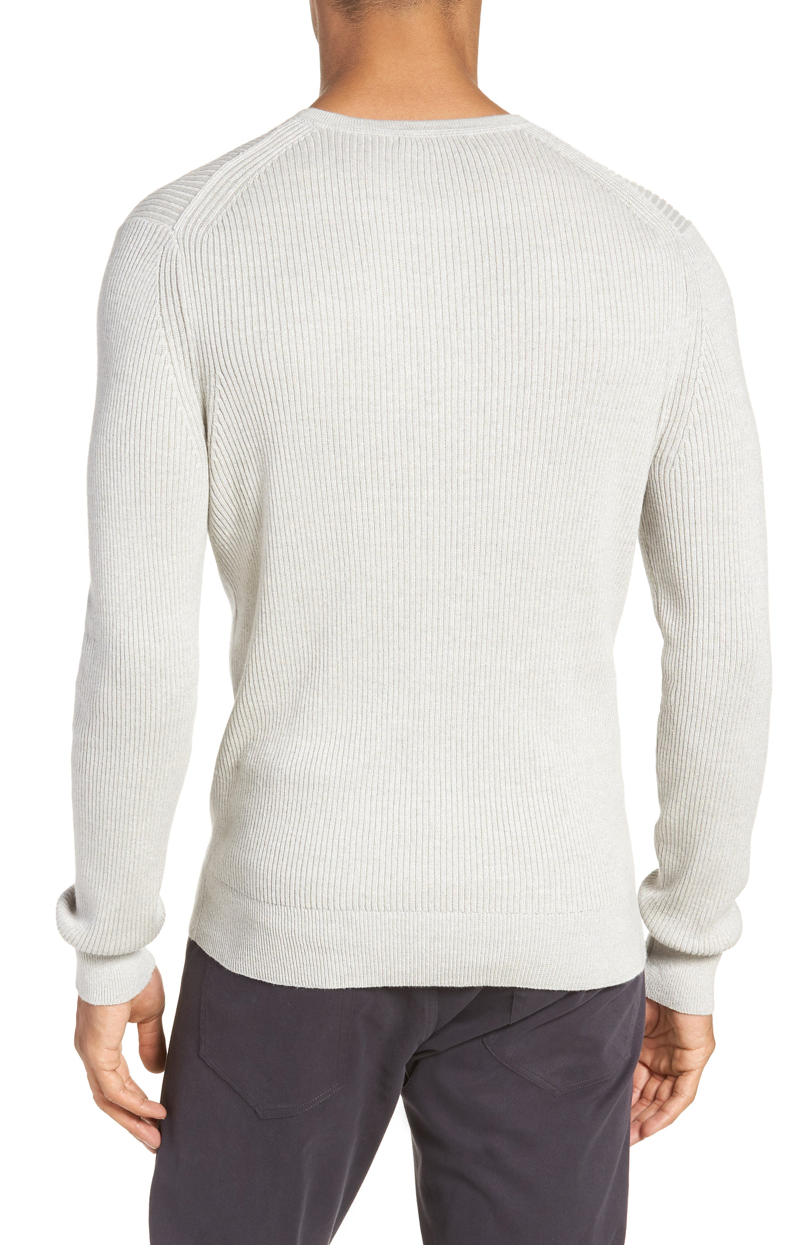 Ribbed Henley,                             Alternate thumbnail 2, color,                             099