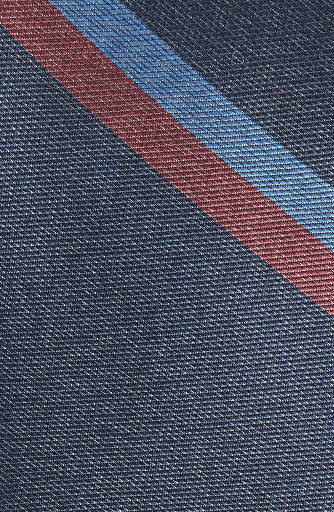 Stripe Silk Skinny Tie,                             Alternate thumbnail 2, color,                             410