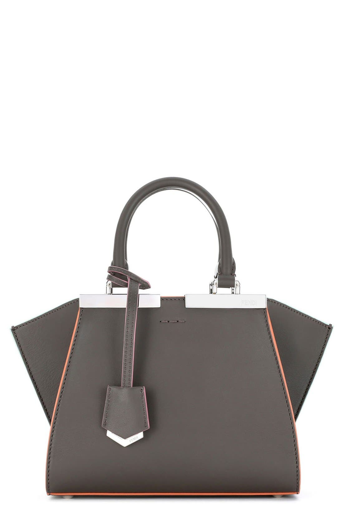 'Mini 3Jours' Calfskin Leather Shopper,                             Main thumbnail 1, color,