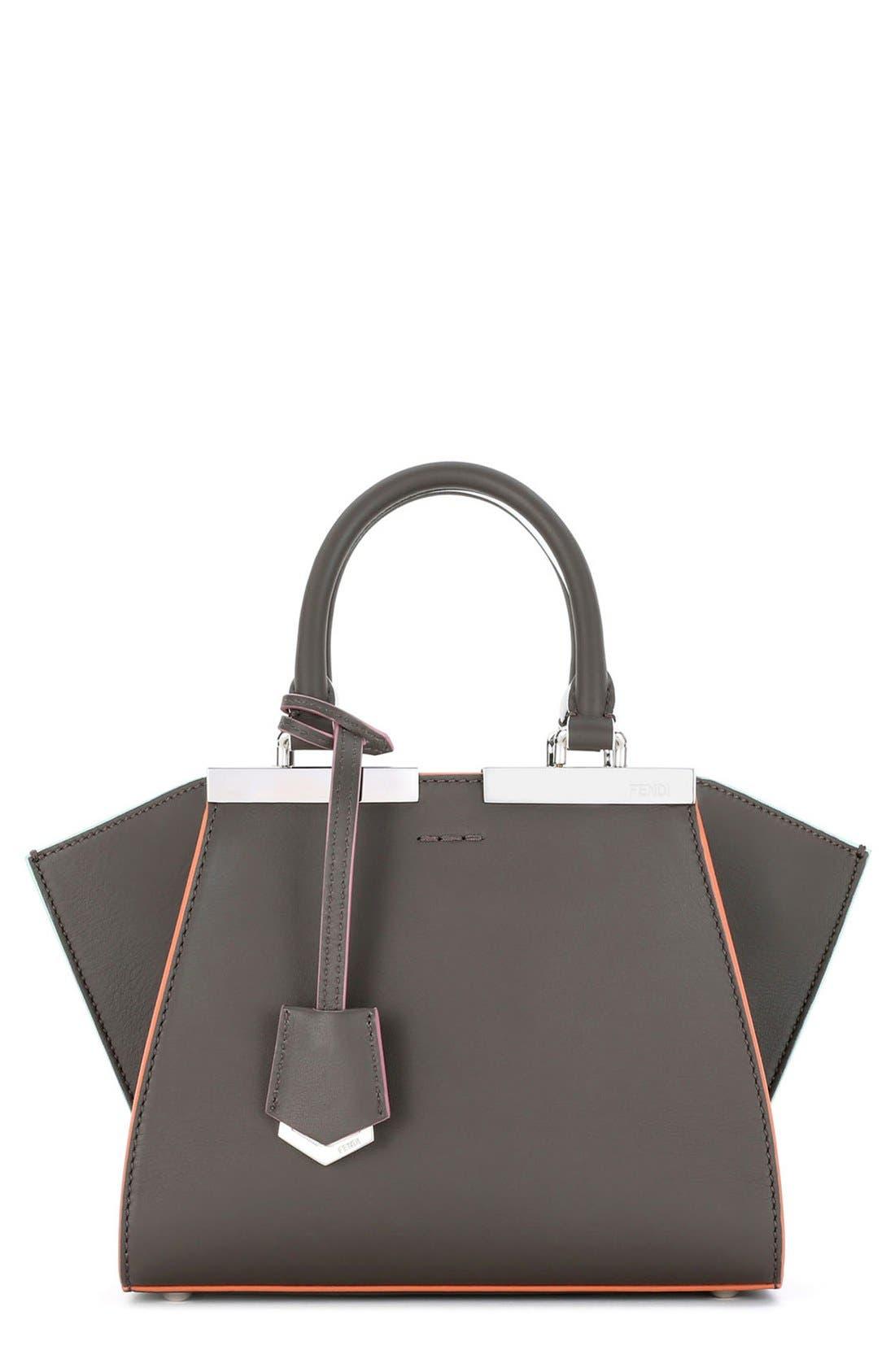 'Mini 3Jours' Calfskin Leather Shopper,                         Main,                         color,