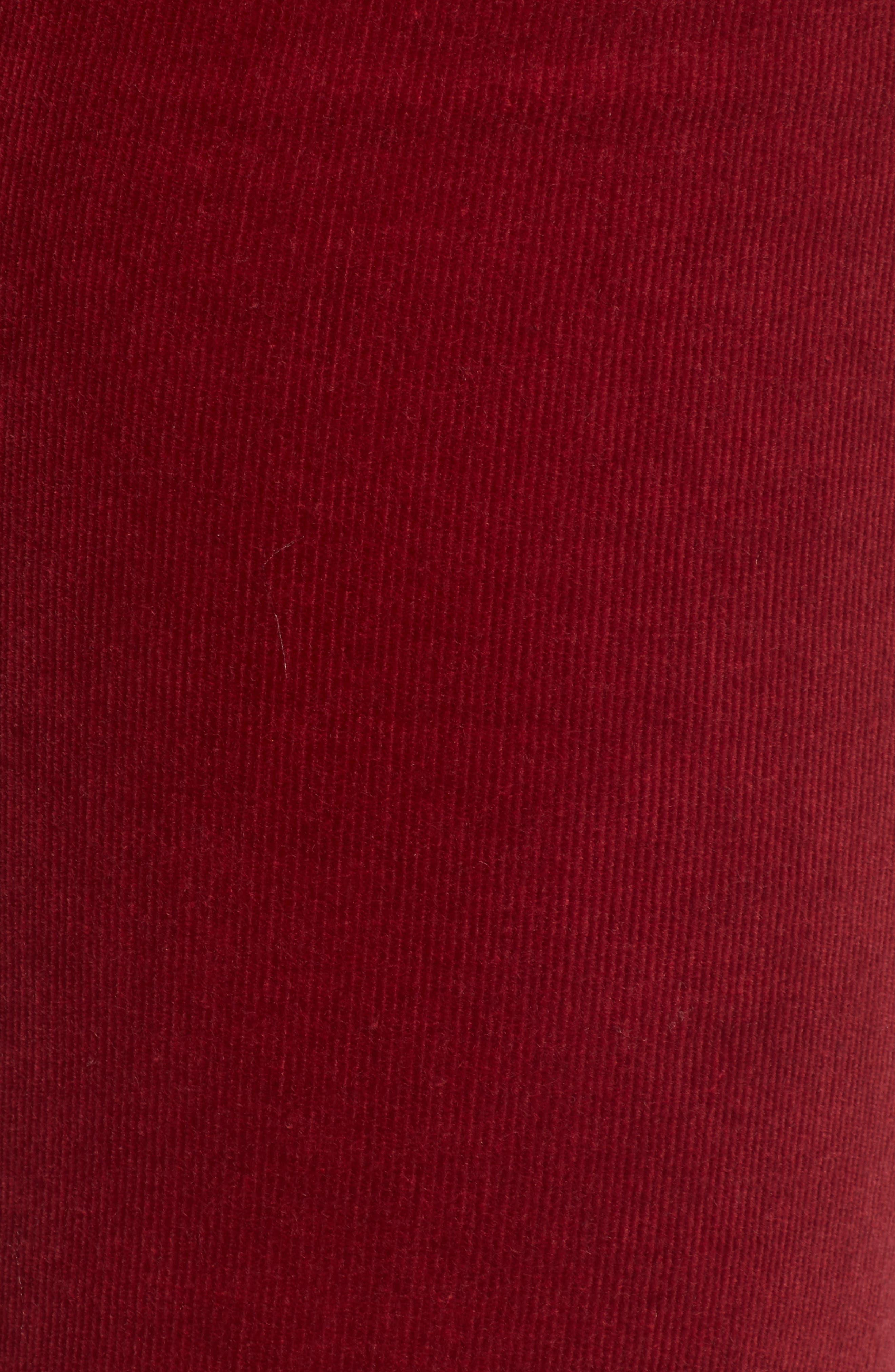 'Diana' Stretch Corduroy Skinny Pants,                             Alternate thumbnail 219, color,