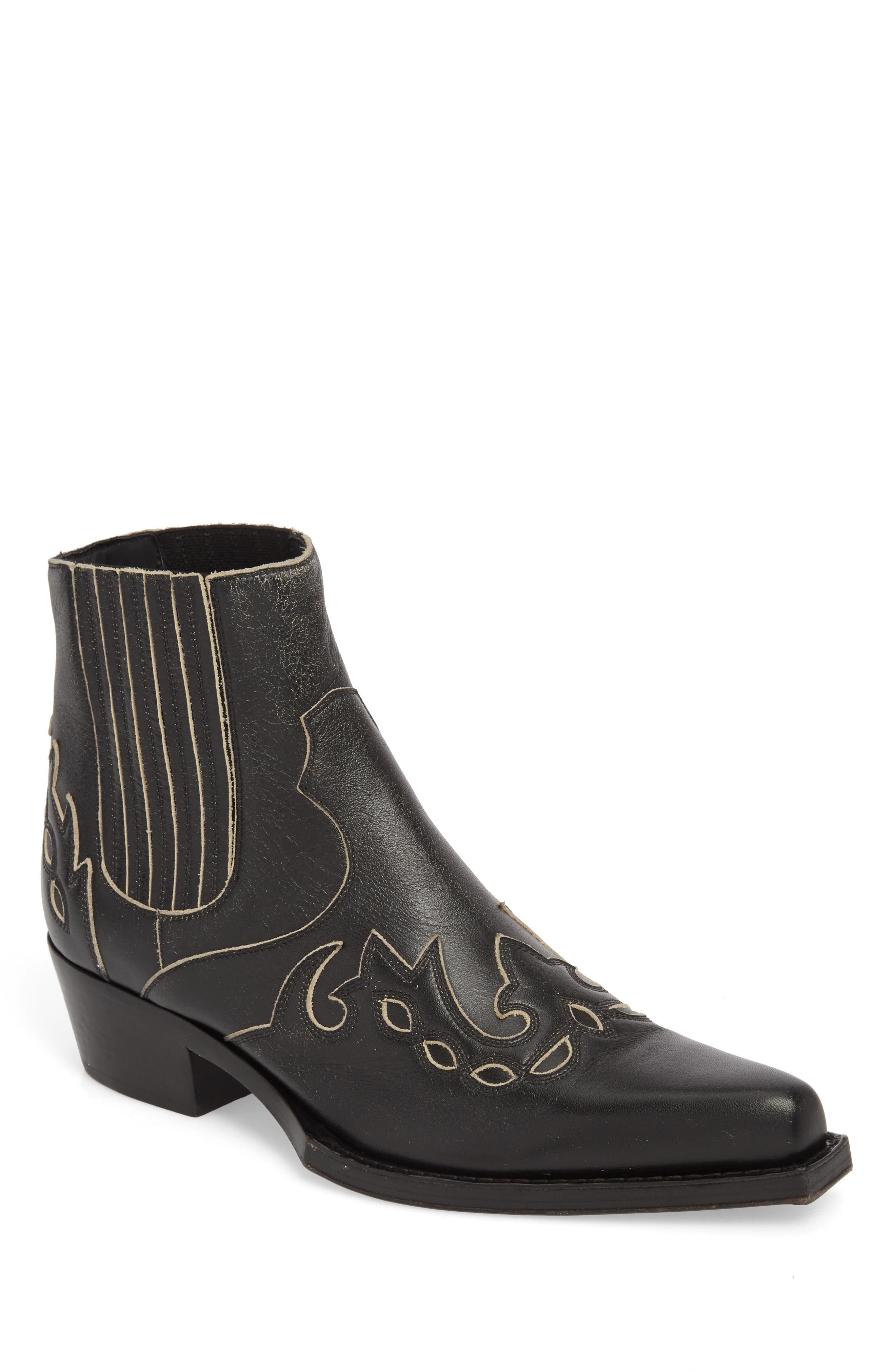 Cal Calvert Cowboy Boot,                         Main,                         color, 001