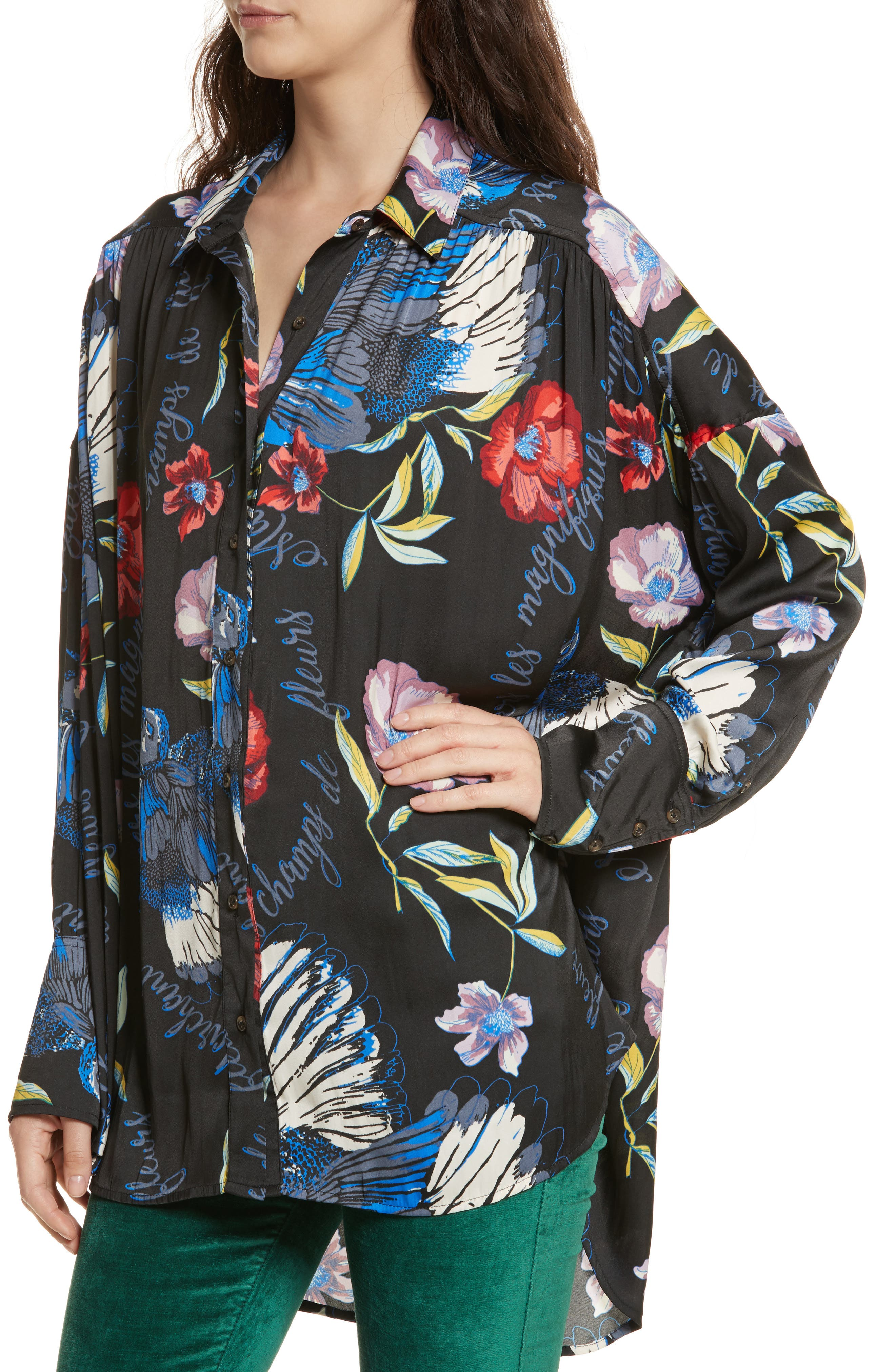 Silky Nights Blouse,                             Alternate thumbnail 10, color,