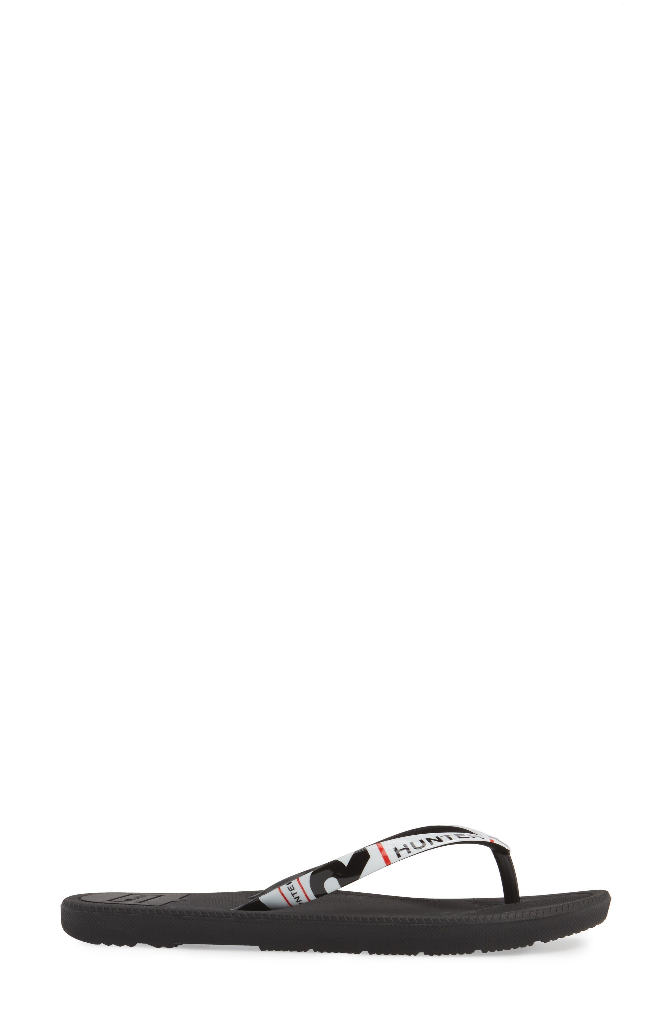 Original Exploded Logo Flip Flop,                             Alternate thumbnail 3, color,                             001