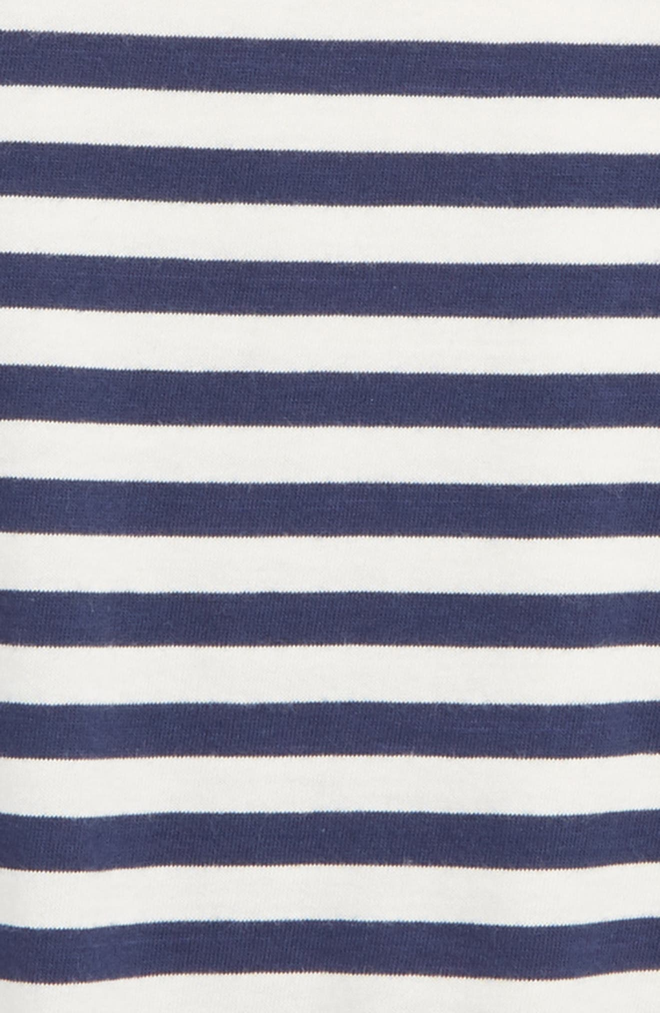 Supersoft Stripe T-Shirt,                             Alternate thumbnail 2, color,                             414