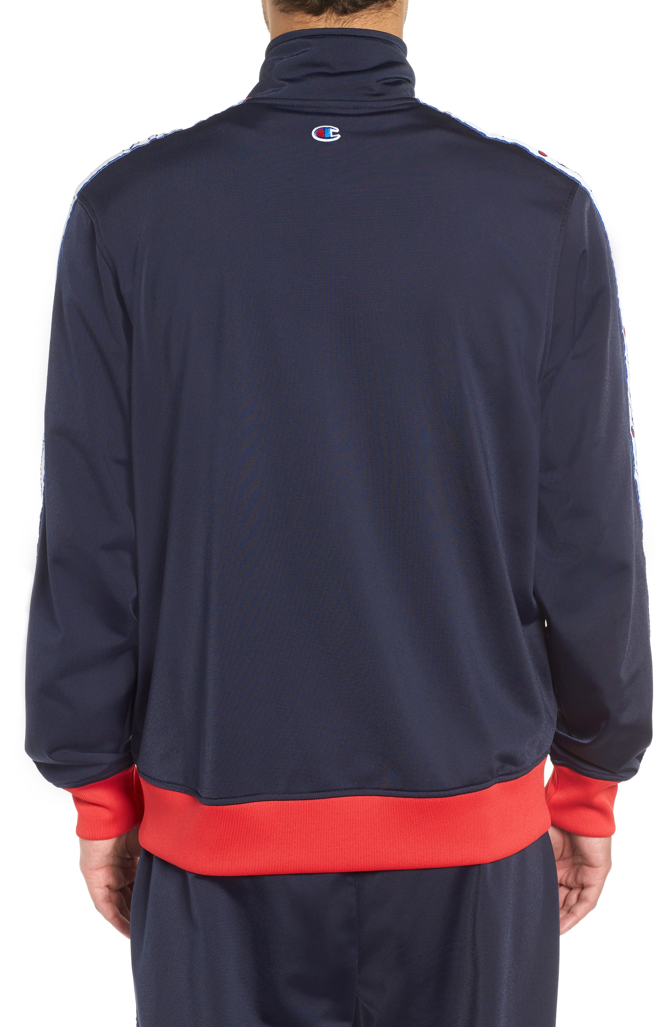 Track Jacket,                             Alternate thumbnail 2, color,                             NAVY/ SCARLET