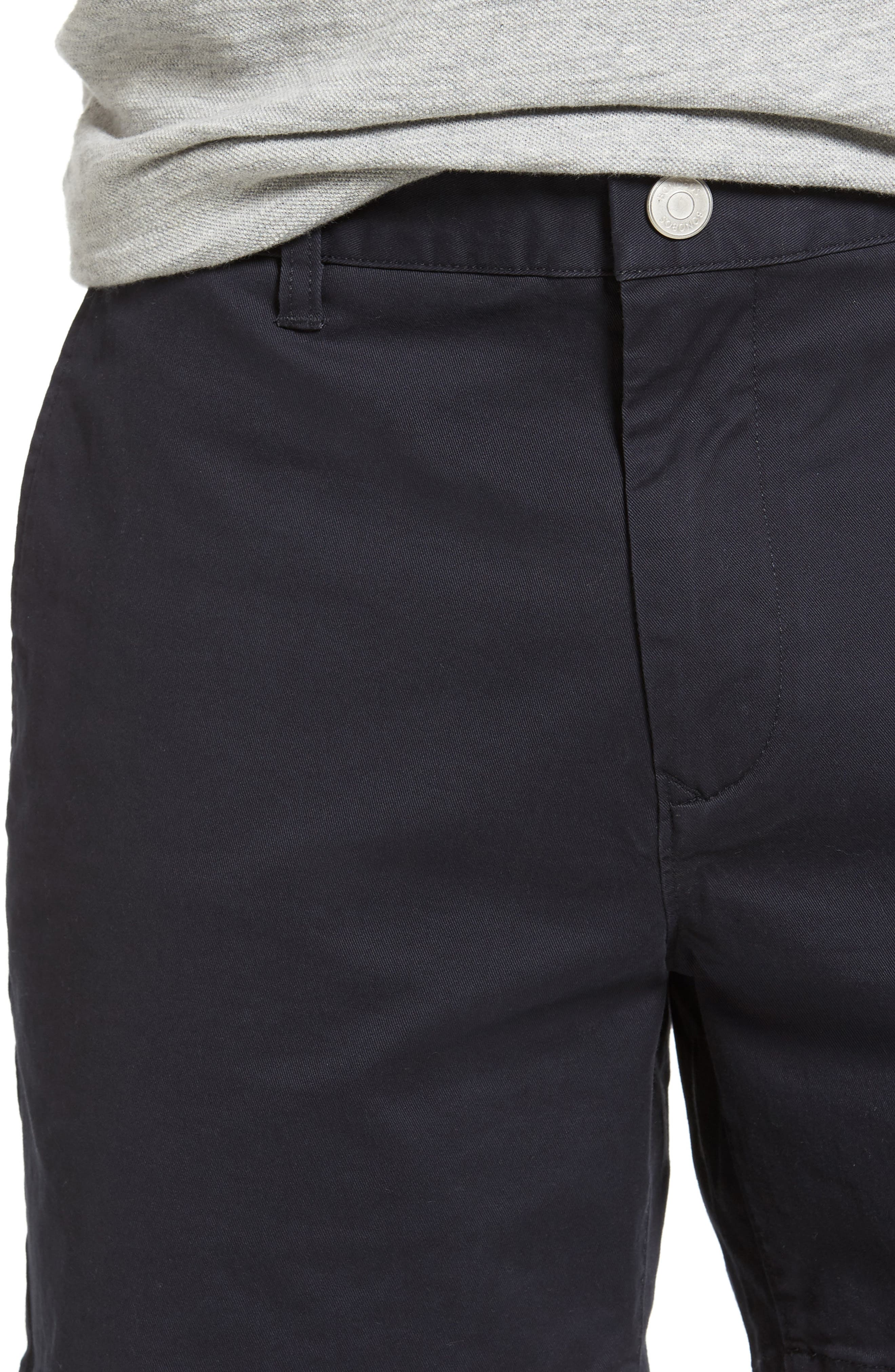 Stretch Washed Chino 5-Inch Shorts,                             Alternate thumbnail 110, color,