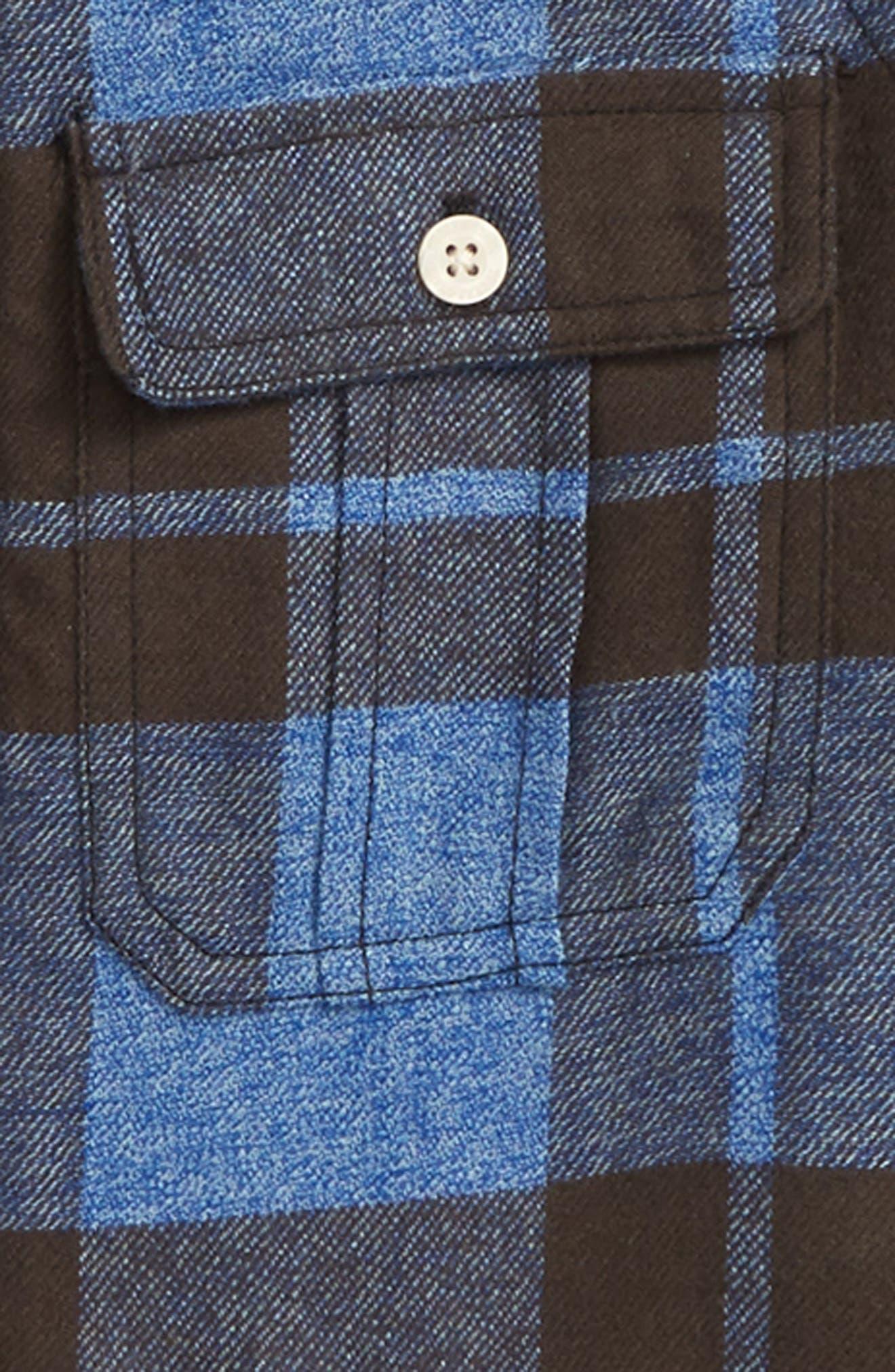 Plaid Hooded Jacket,                             Alternate thumbnail 2, color,                             401