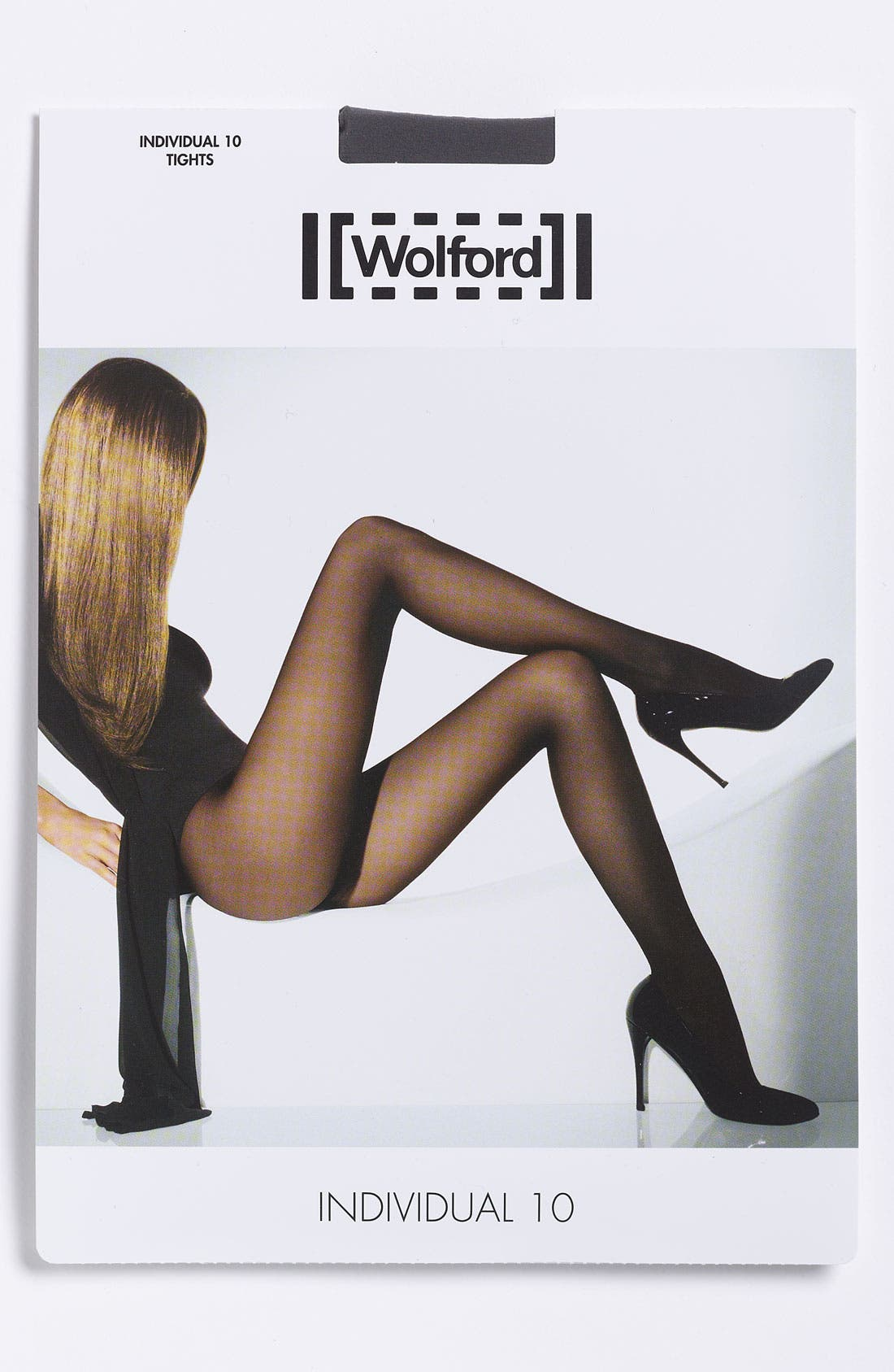 'Individual 10' Pantyhose,                             Alternate thumbnail 3, color,                             FAIRLY LIGHT