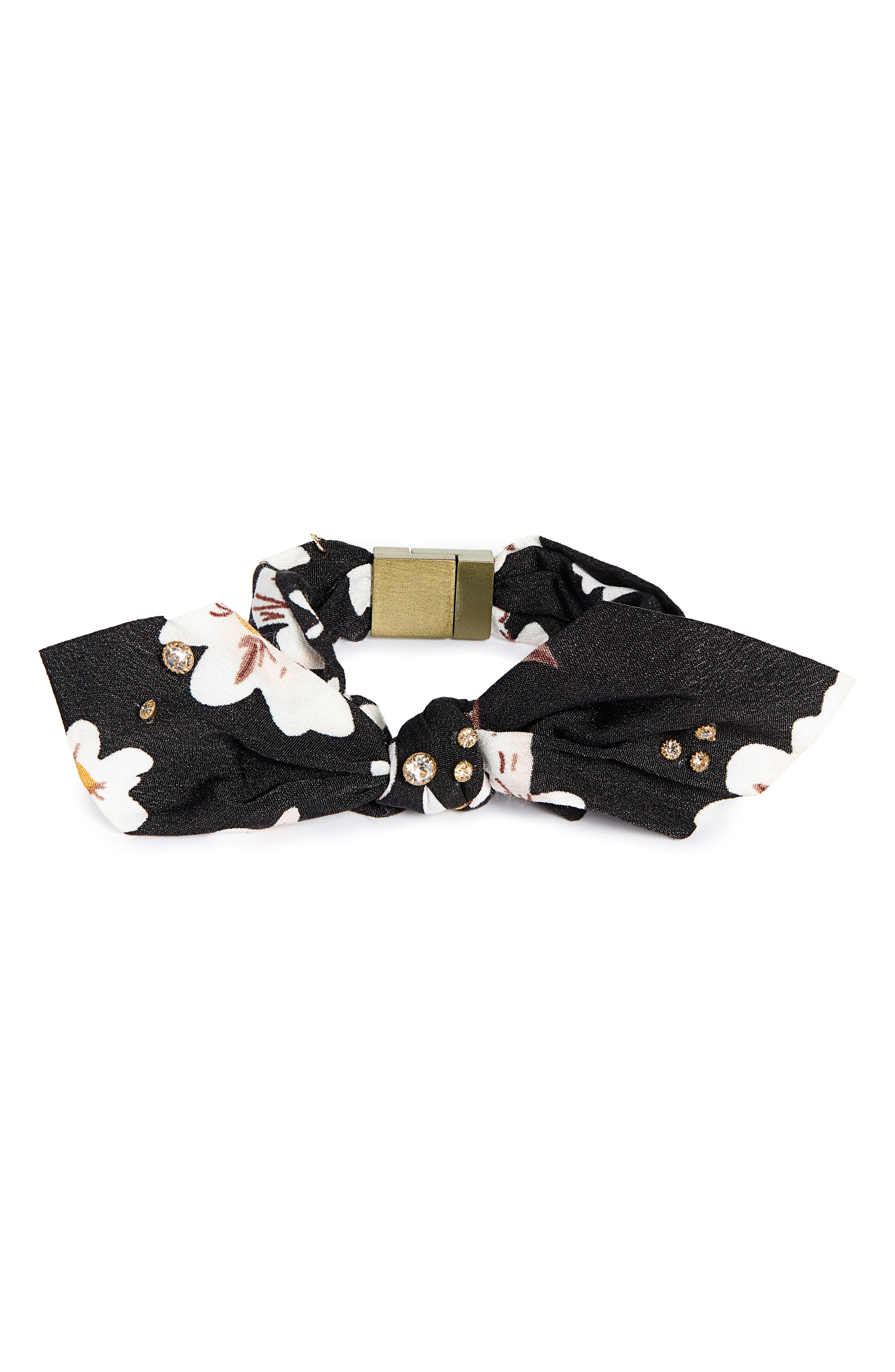 Bow Tie Bracelet,                             Main thumbnail 1, color,                             001