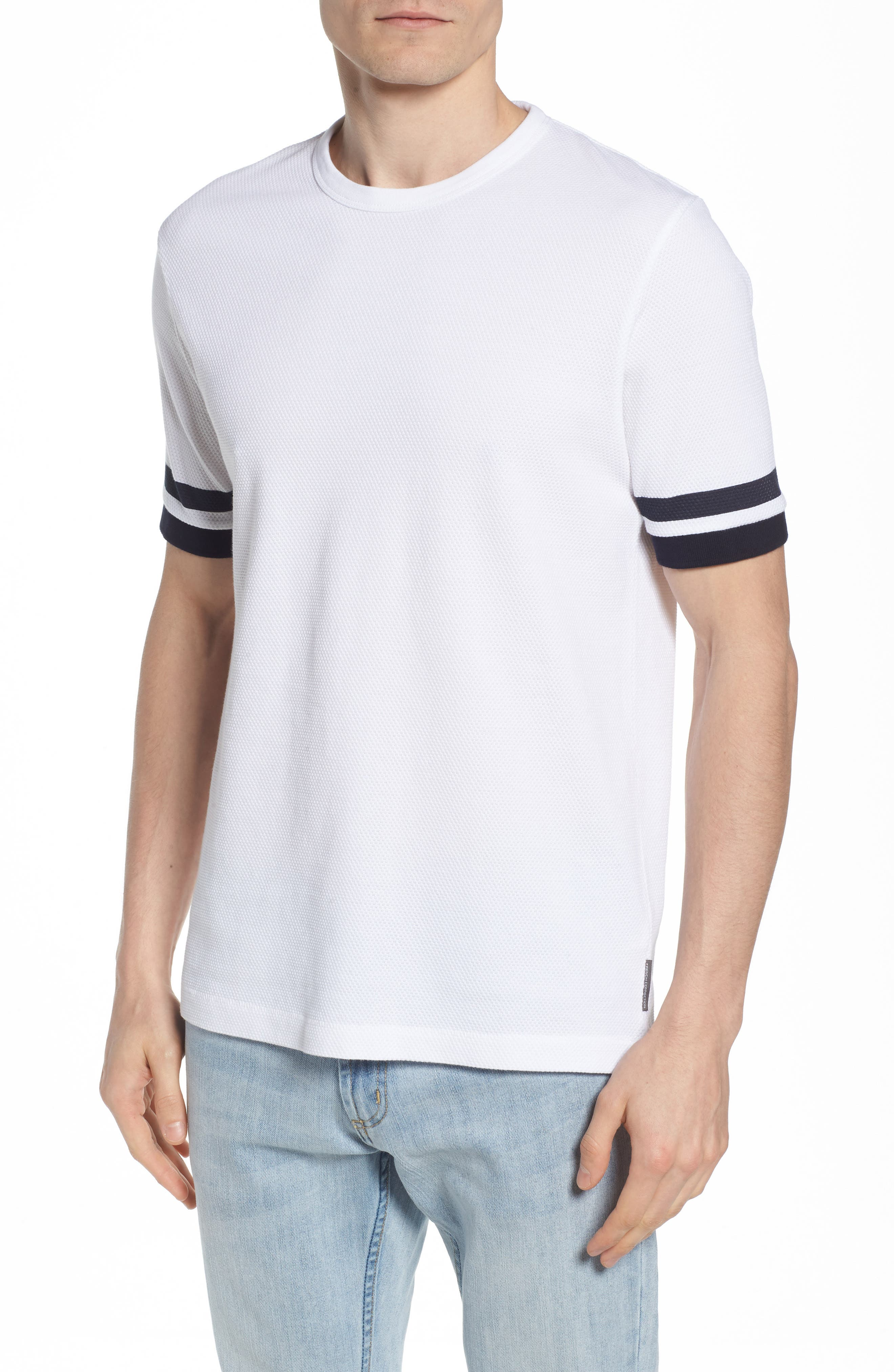 Ampthill Crewneck T-Shirt,                         Main,                         color, WHITE
