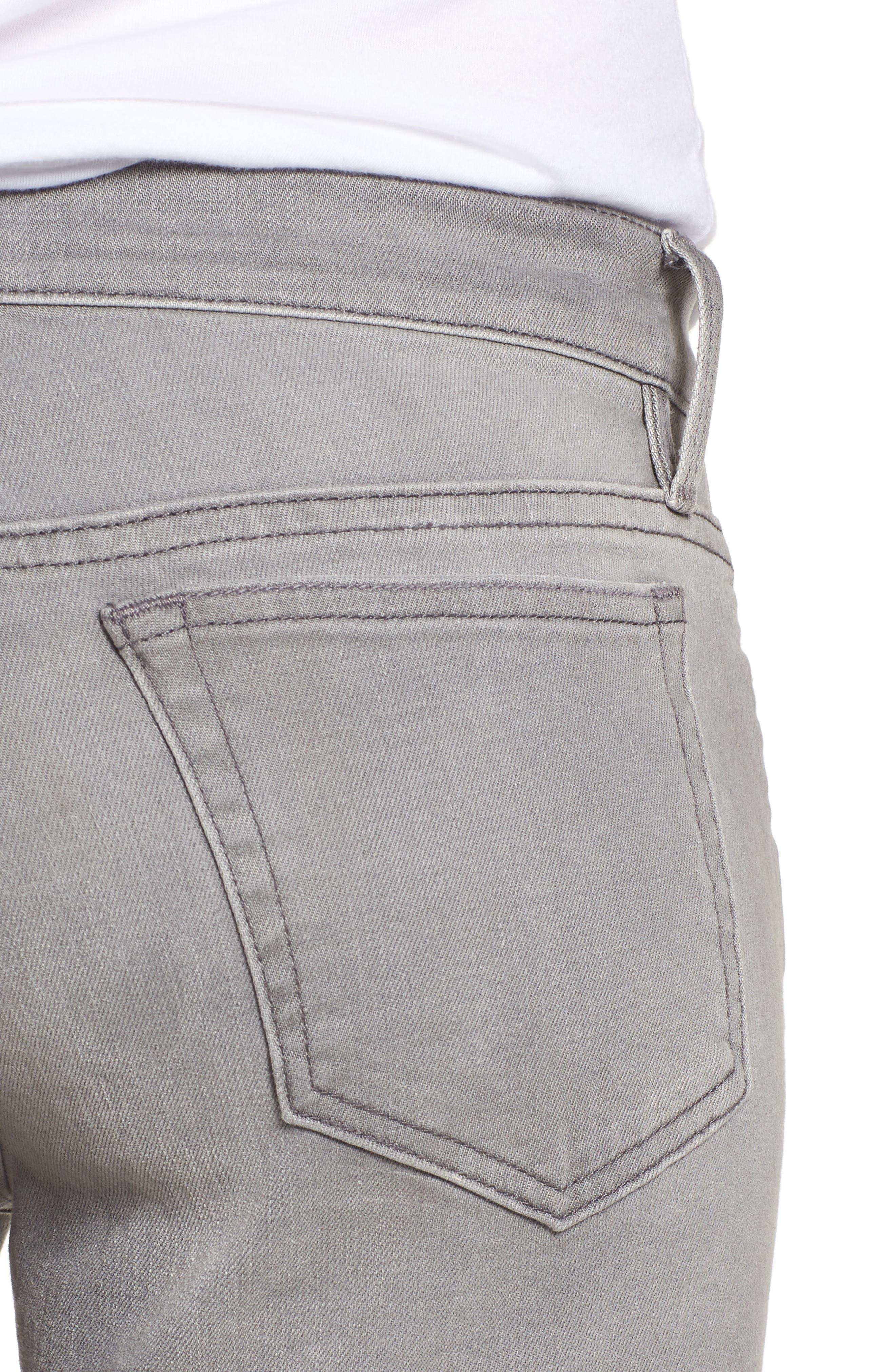 FRAME,                             L'Homme Slim Fit Jeans,                             Alternate thumbnail 4, color,                             031