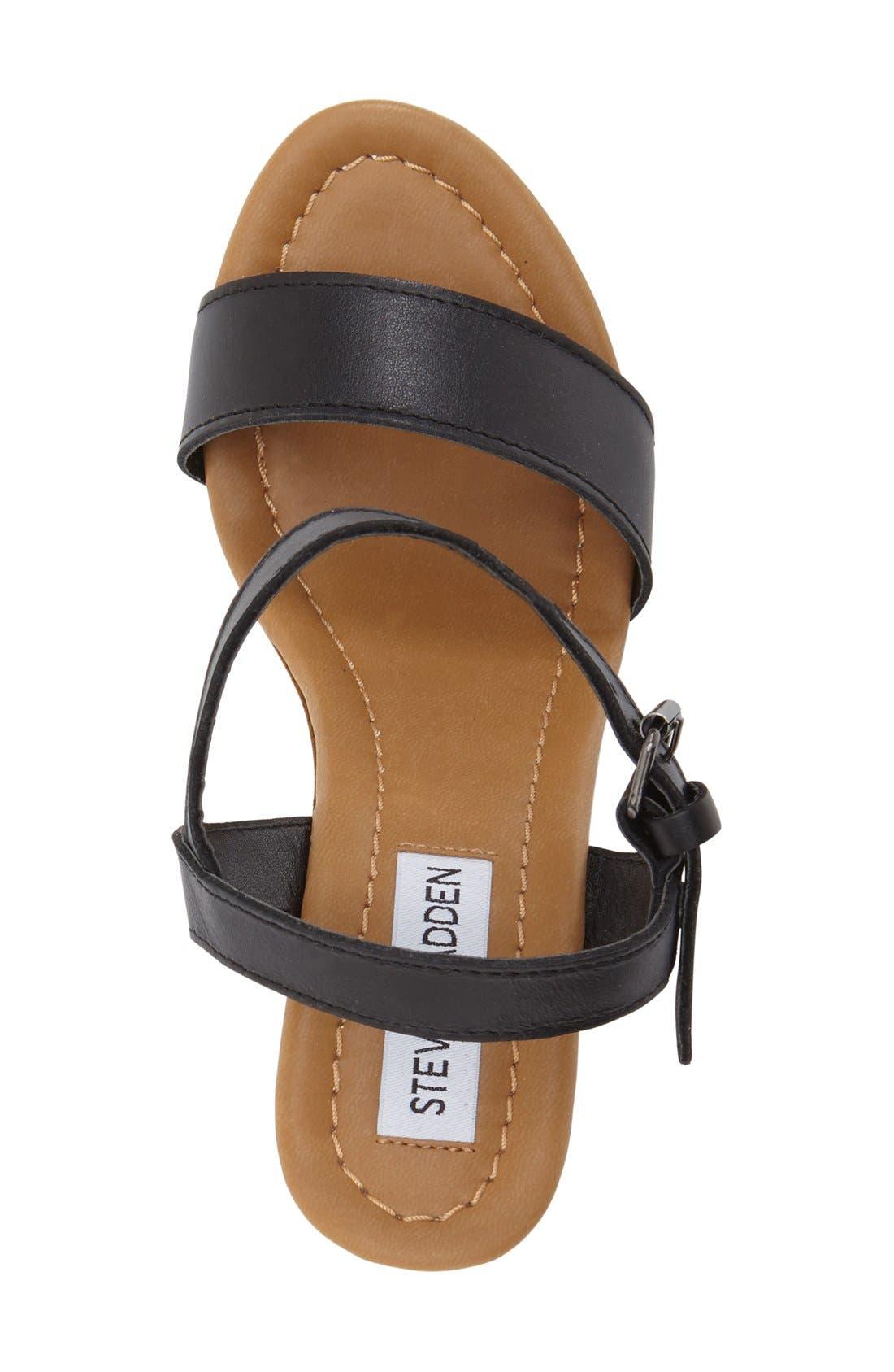 'Kalesi' Platform Wedge Sandal,                             Alternate thumbnail 3, color,                             001