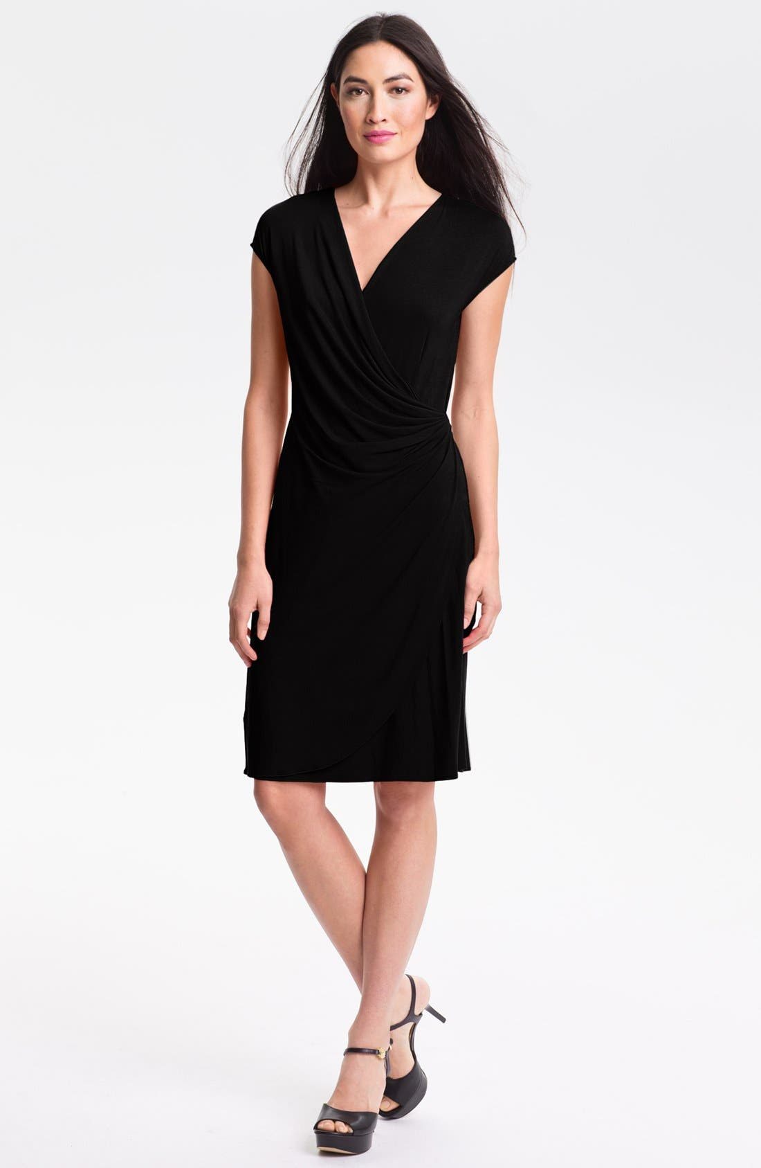 'Tambour' Side Gathered Dress,                             Main thumbnail 1, color,