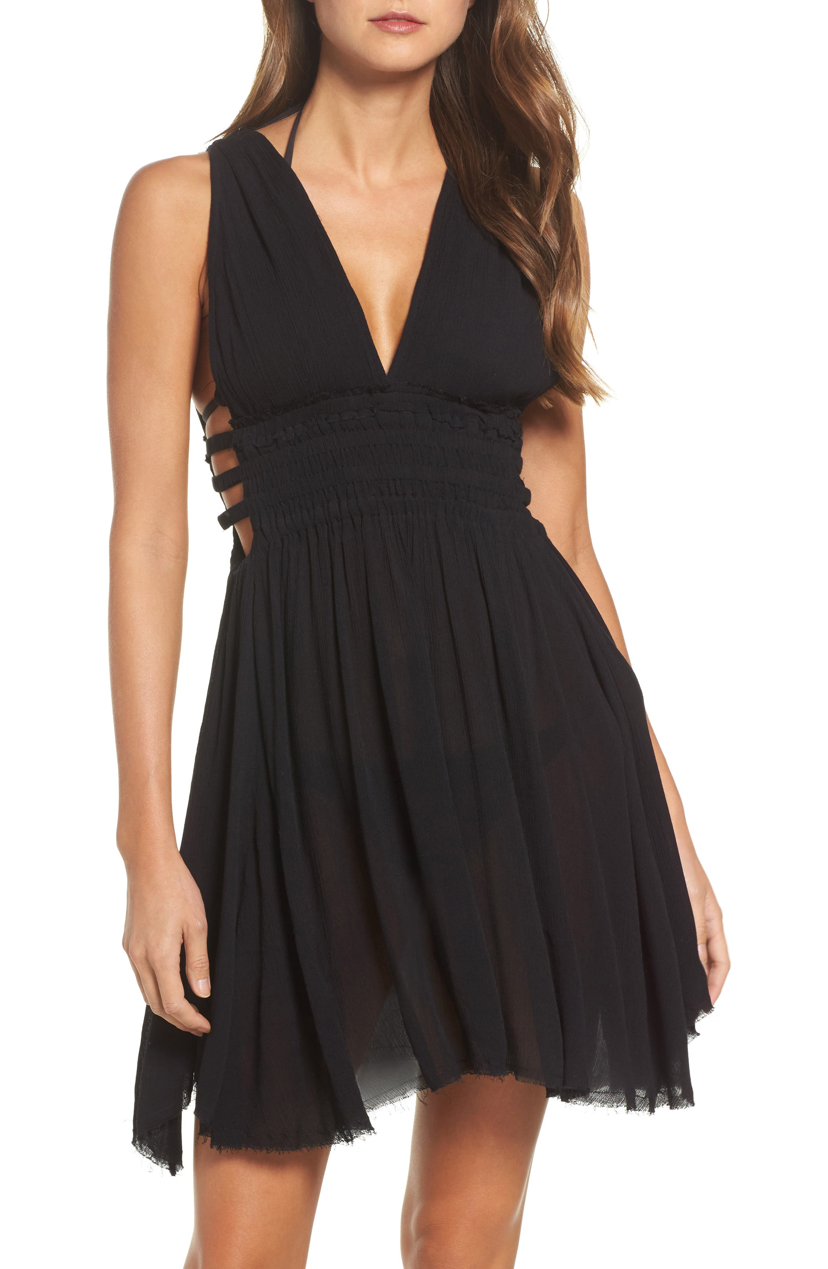 Goddess Cover-Up Dress,                         Main,                         color, 001