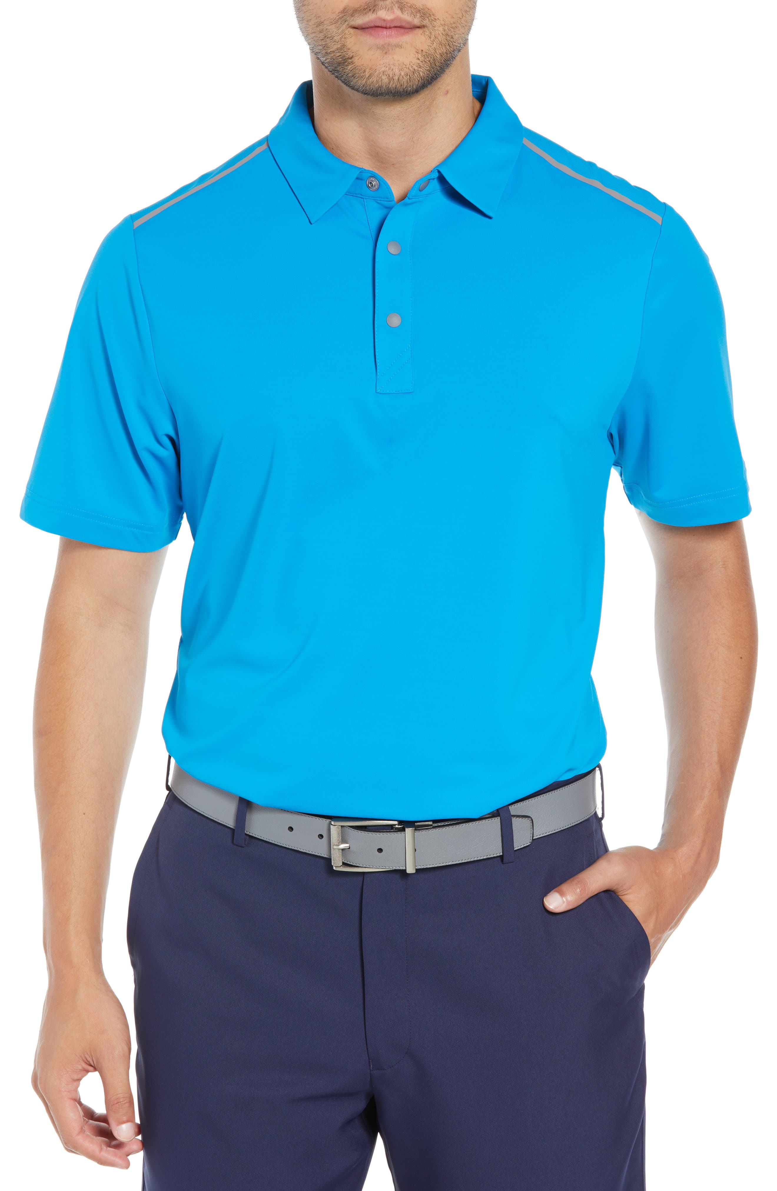 Cutter & Buck Fusion Classic Fit Polo, Blue