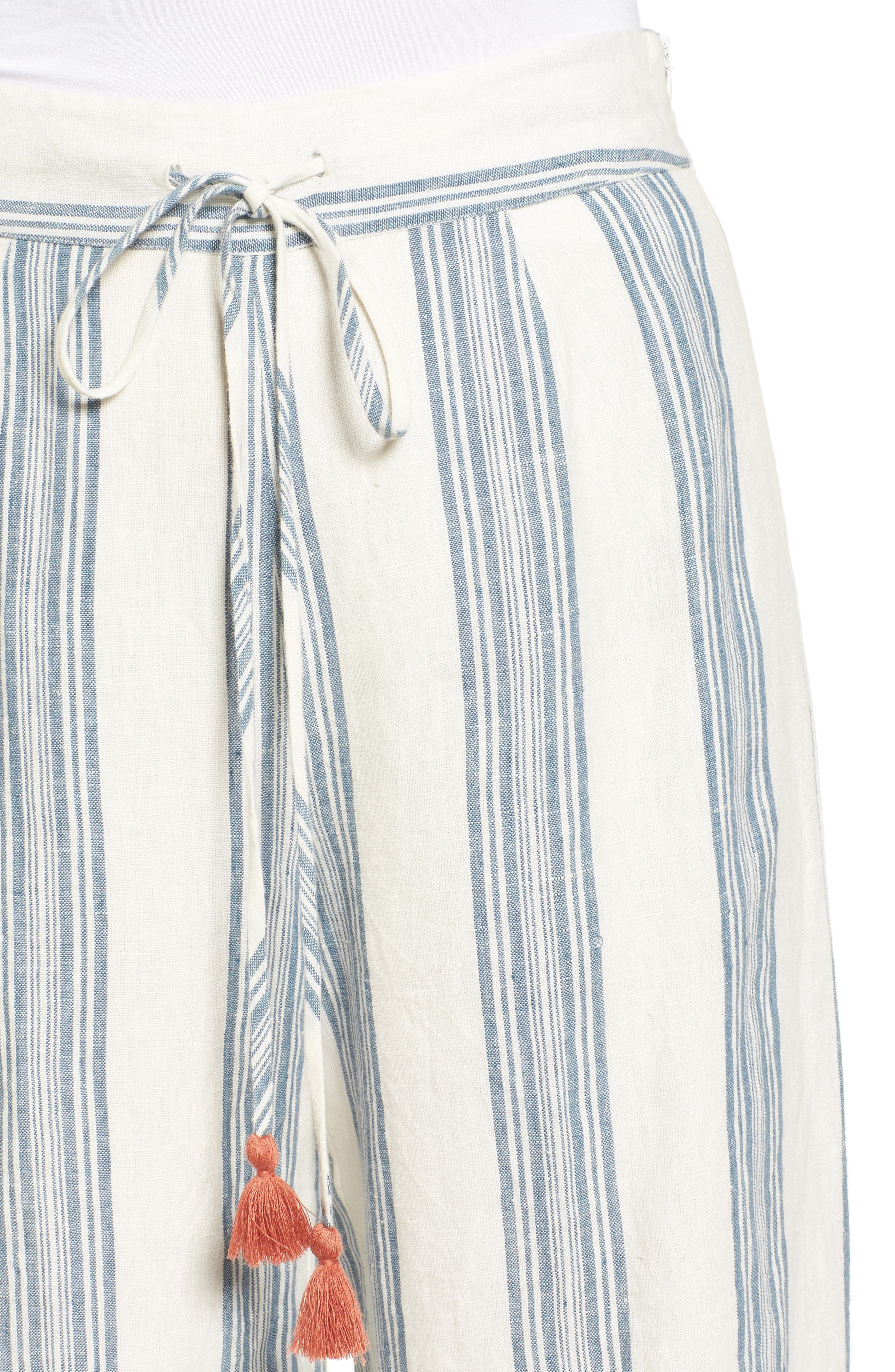 TULAROSA,                             Marley Linen Pants,                             Alternate thumbnail 4, color,                             472