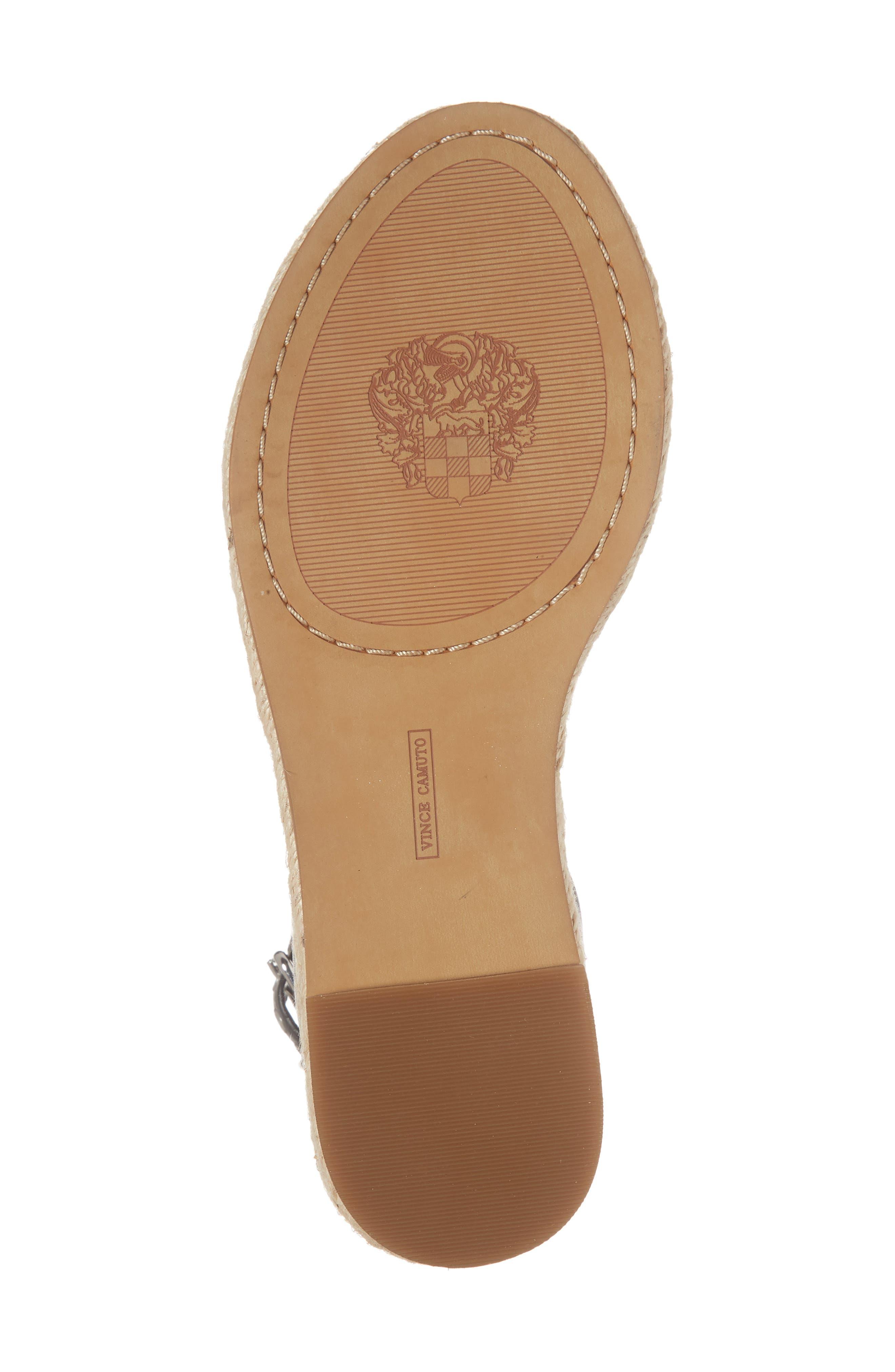 Kathalia Platform Sandal,                             Alternate thumbnail 6, color,                             001