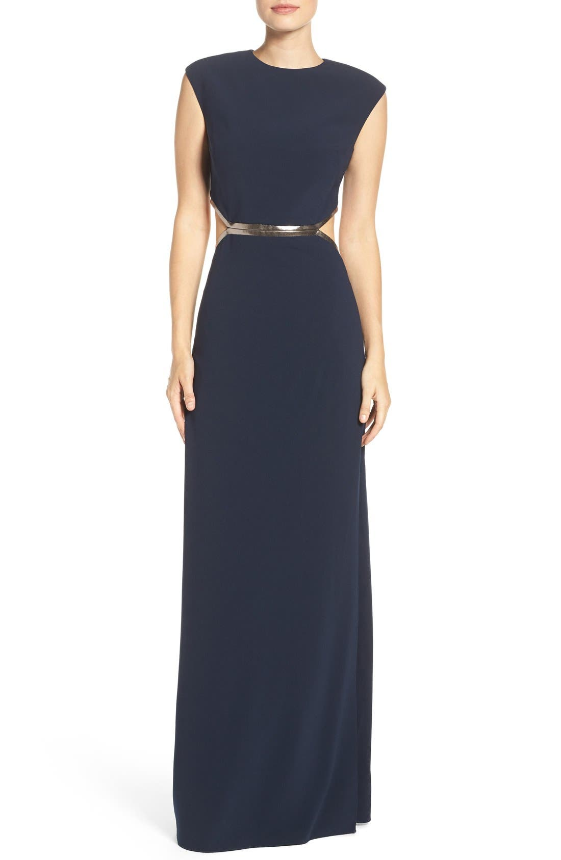 Cutout Gown, Main, color, 477