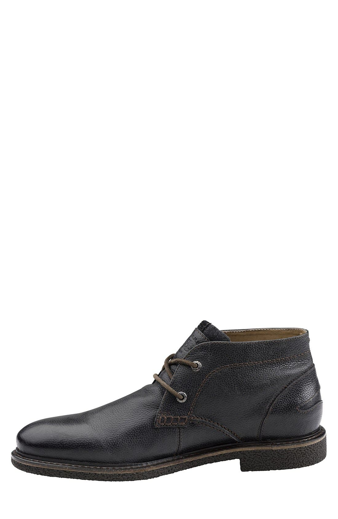 'Bennett' Chukka Boot,                             Alternate thumbnail 2, color,                             BLACK
