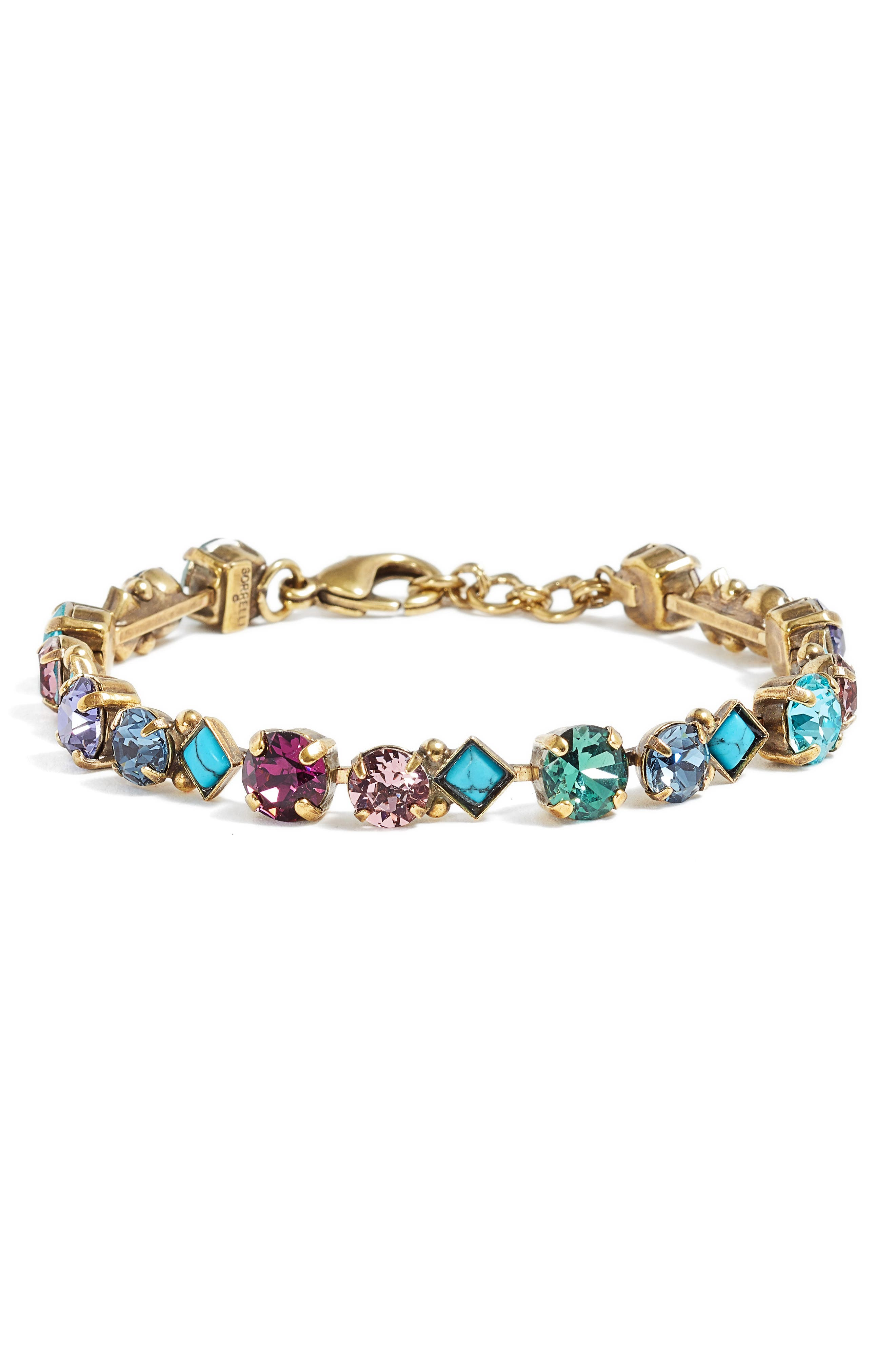 Darling Tennis Bracelet,                         Main,                         color, MULTI