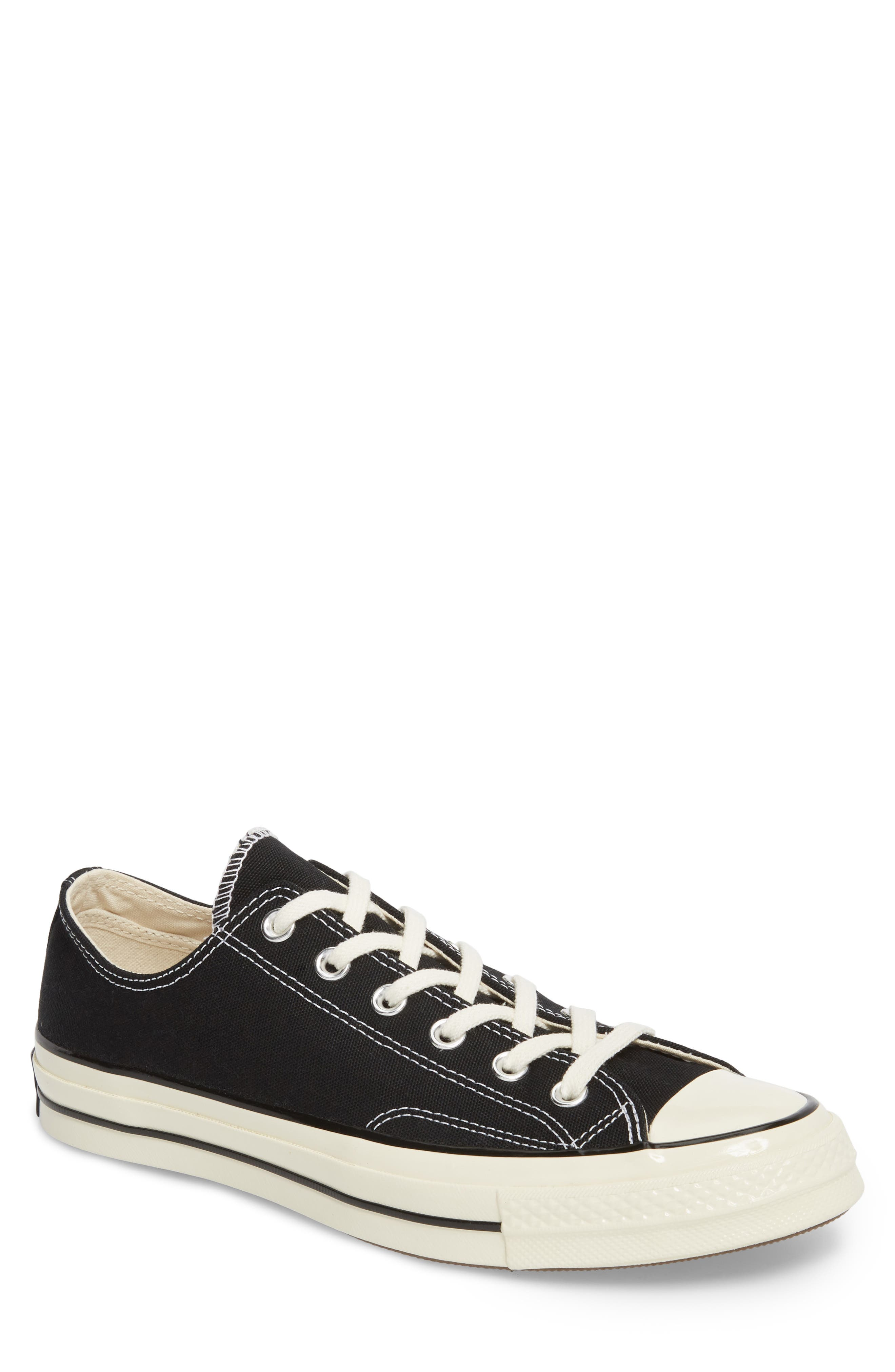 Chuck Taylor<sup>®</sup> All Star<sup>®</sup> 70 Low Top Sneaker,                             Main thumbnail 1, color,                             BLACK