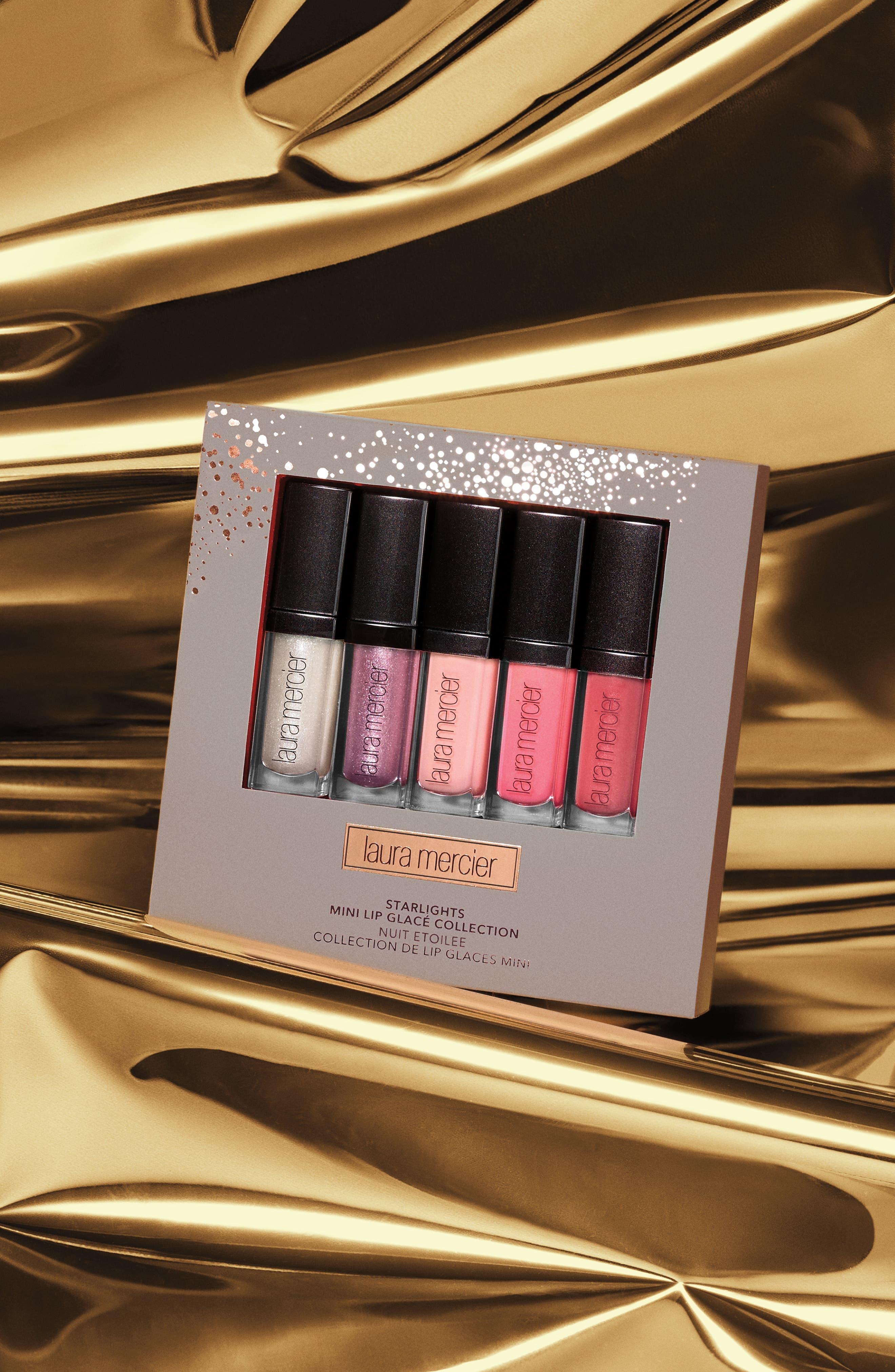 Starlights Mini Lip Glacé Set,                             Alternate thumbnail 2, color,                             000