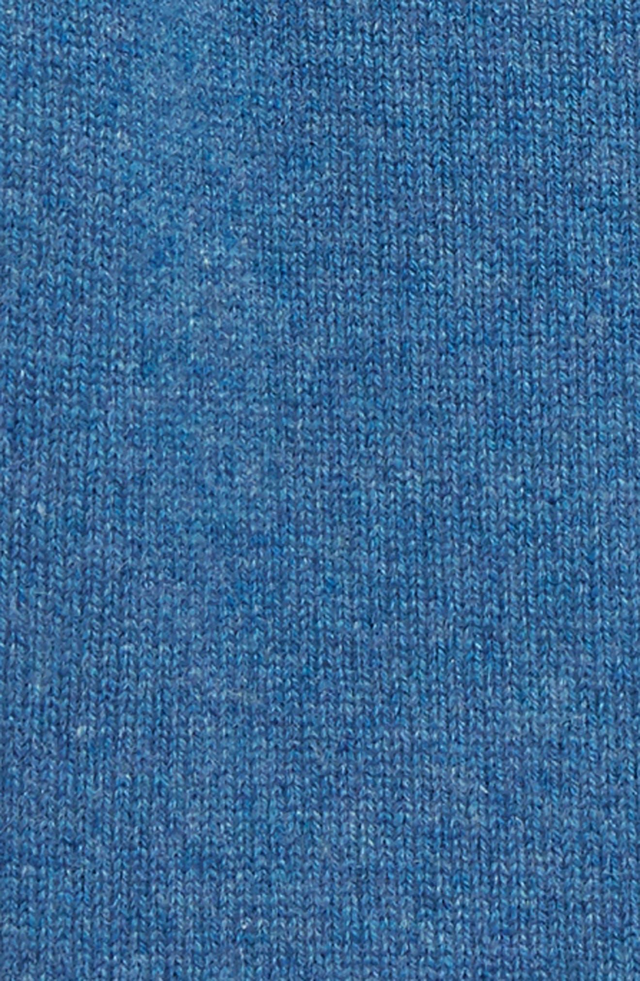 Alister Cashmere Sweater,                             Alternate thumbnail 2, color,                             DUSTY BLUE MELANGE