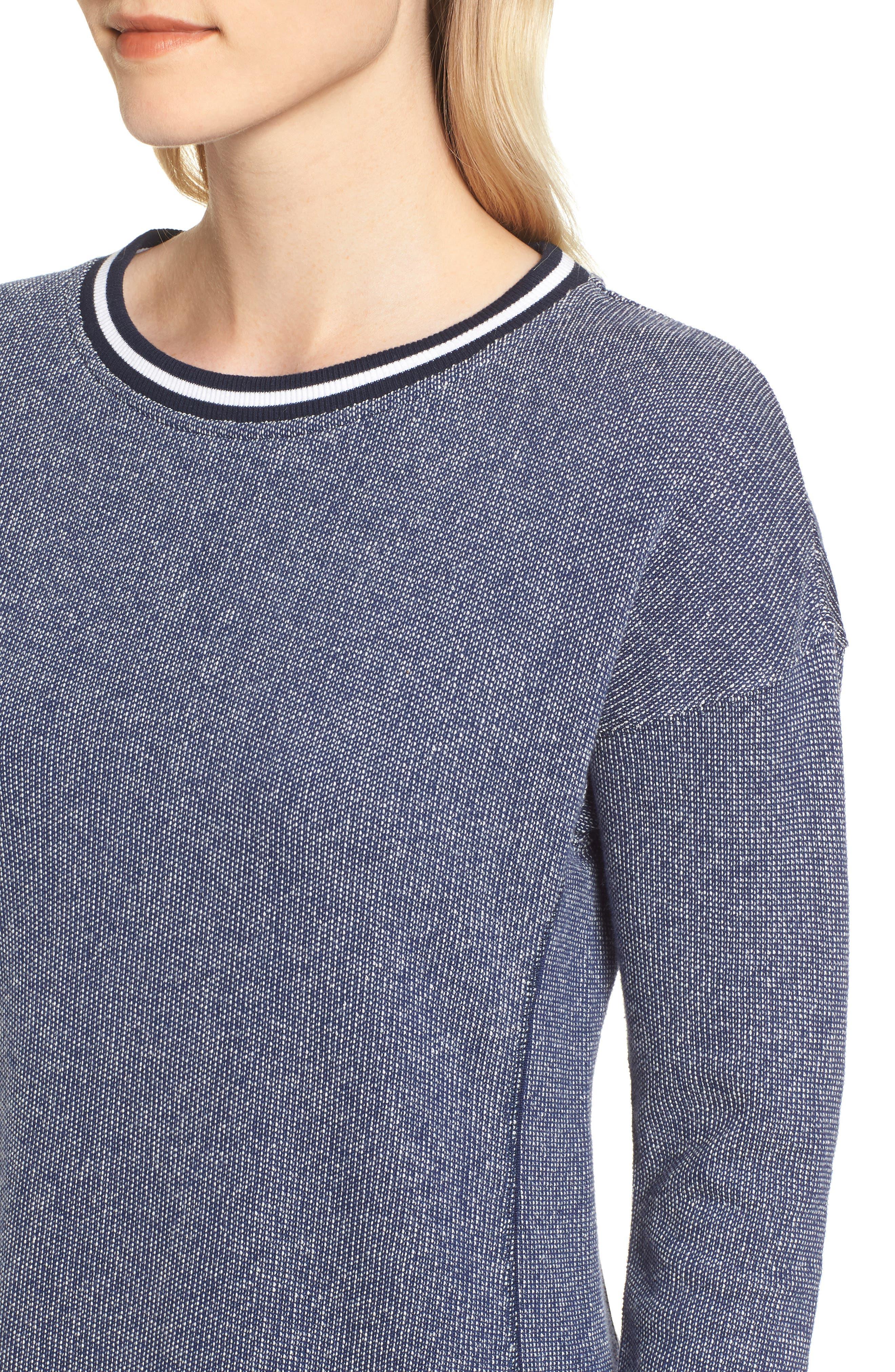 Sweatshirt Dress,                             Alternate thumbnail 4, color,                             476