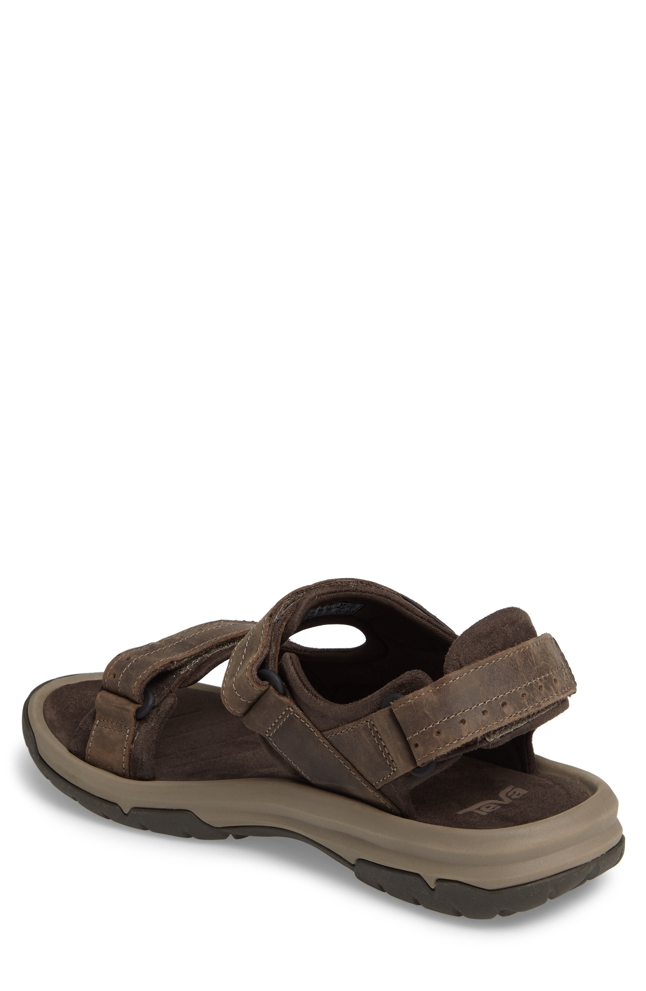 Langdon Sandal,                             Alternate thumbnail 2, color,                             WALNUT