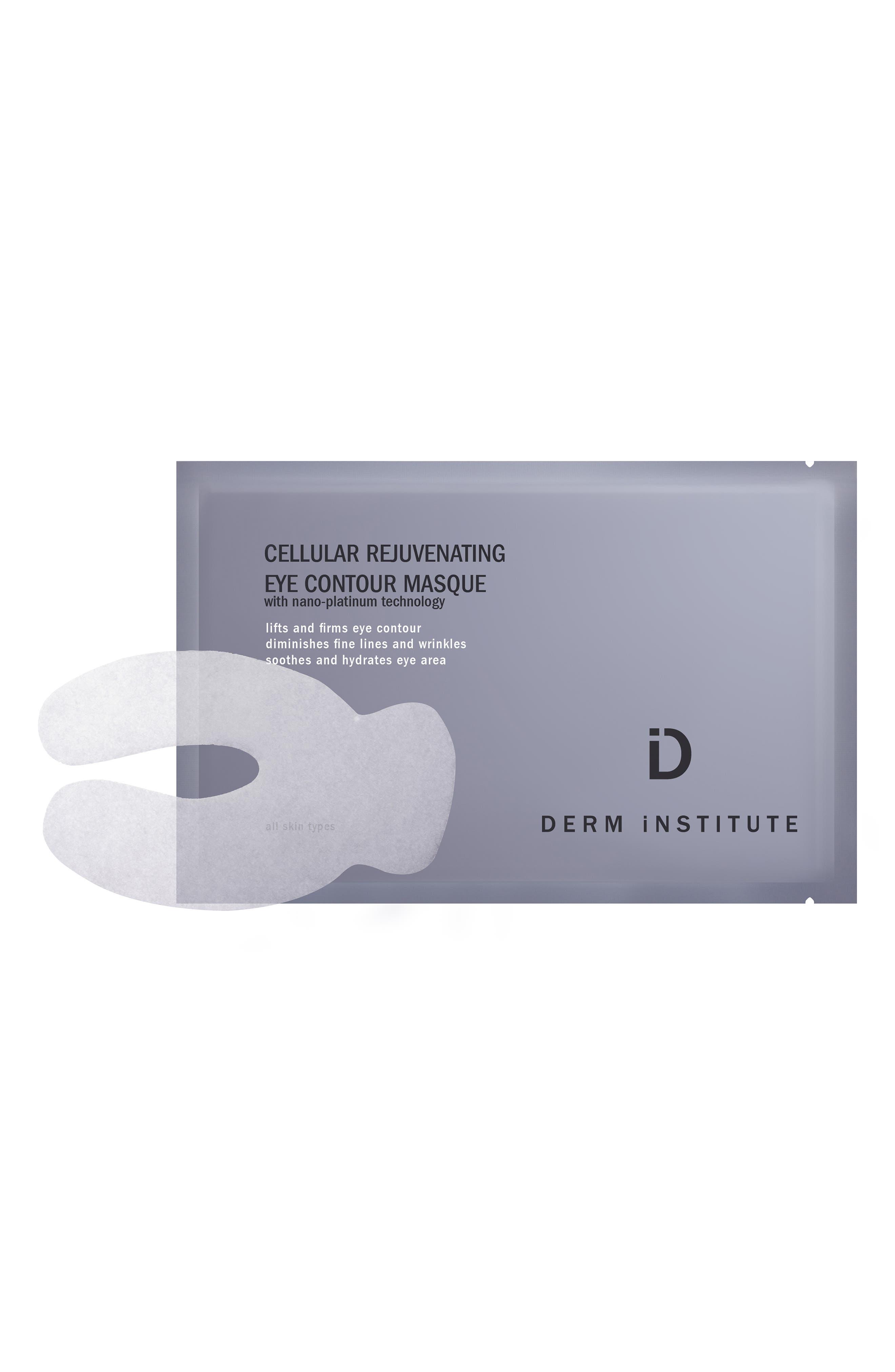 SPACE.NK.apothecary Derm Institute Cellular Rejuvenating Eye Contour Masque,                             Main thumbnail 1, color,                             NO COLOR