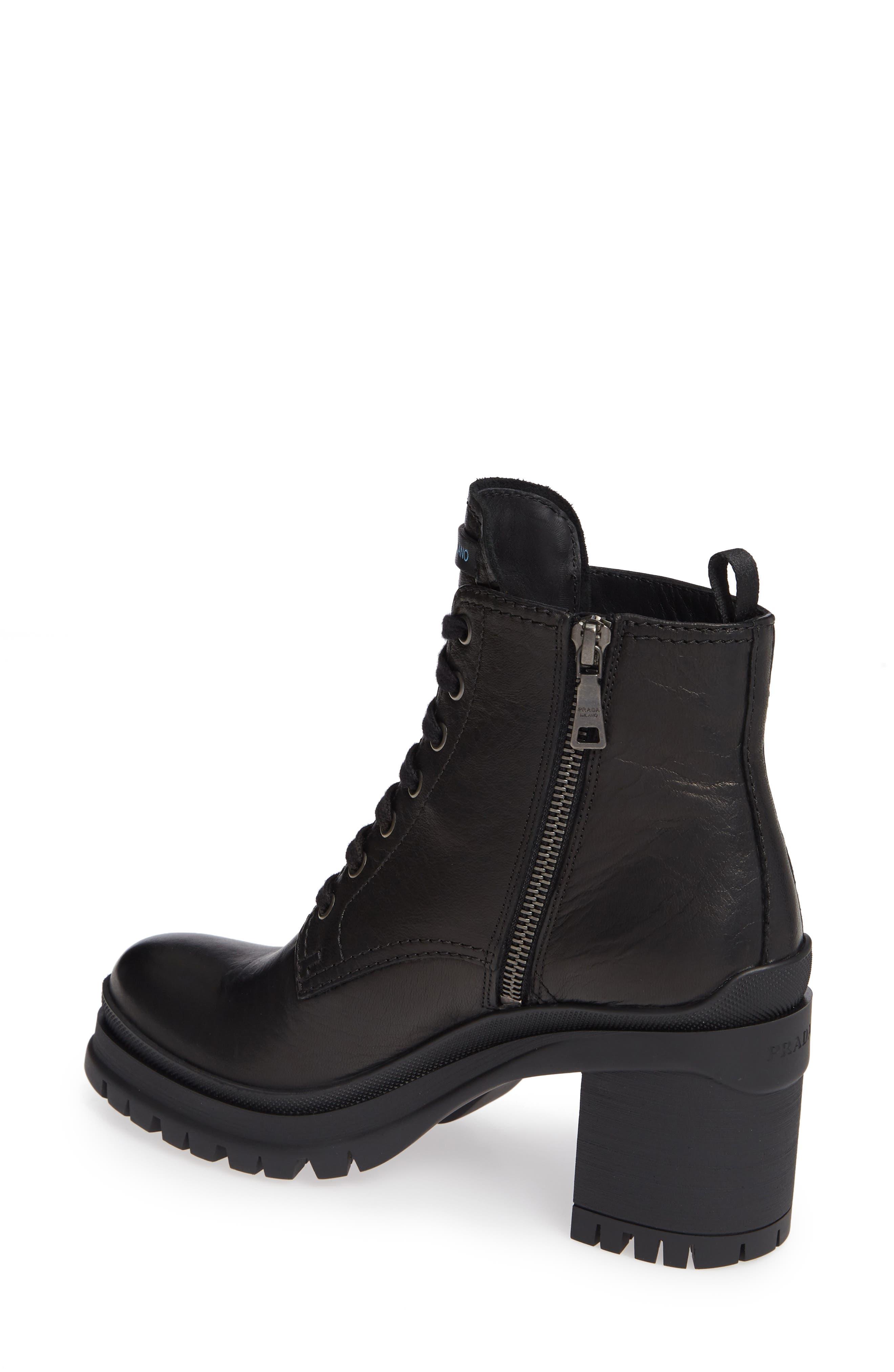 Block Heel Combat Boot,                             Alternate thumbnail 2, color,