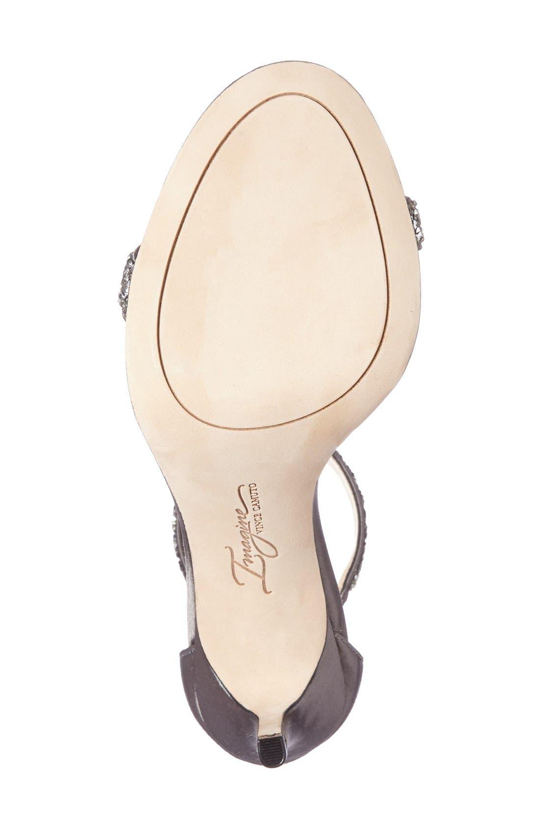 'Phoebe' Embellished T-Strap Sandal,                             Alternate thumbnail 85, color,