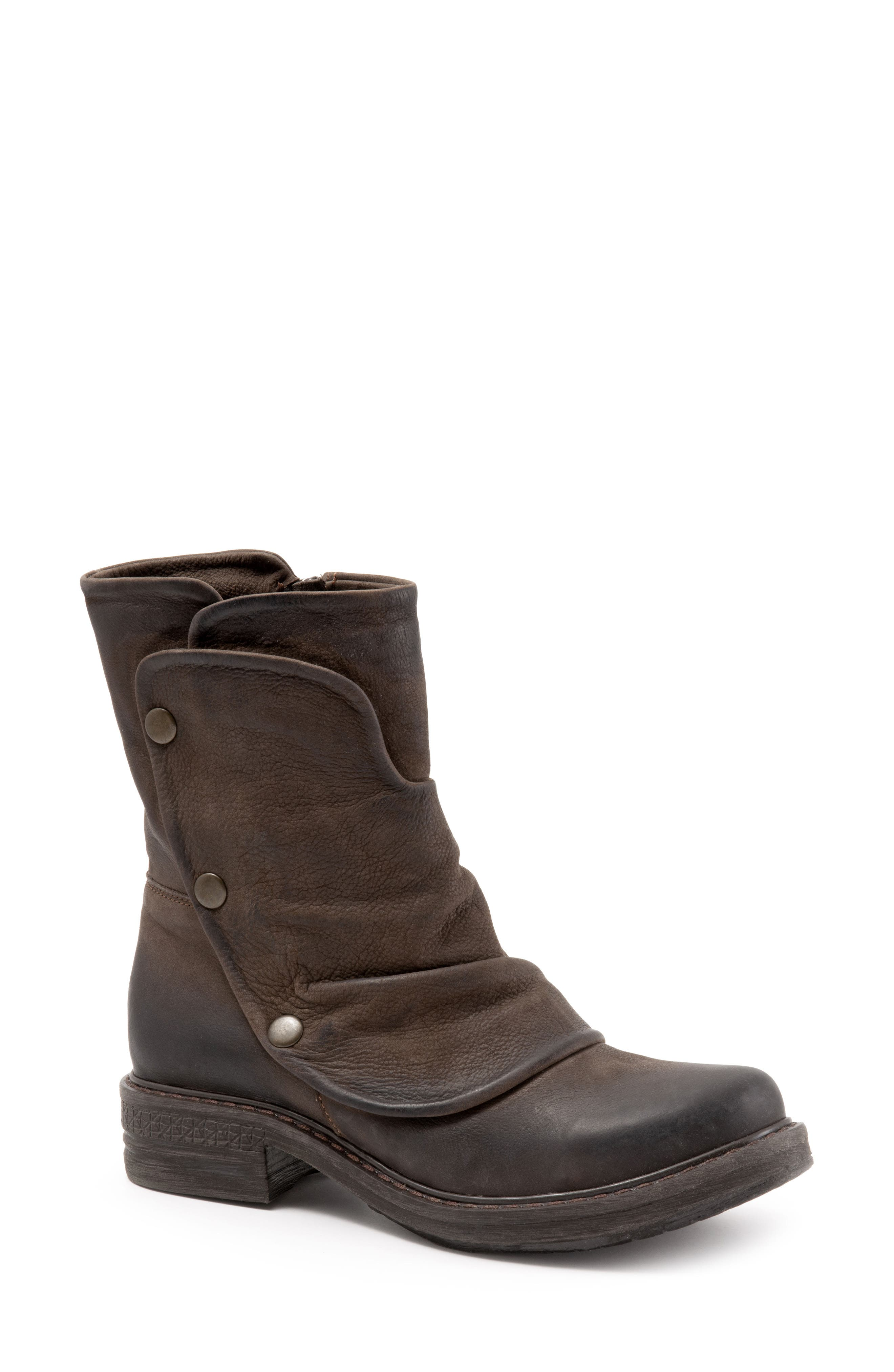 Greta Boot,                             Alternate thumbnail 8, color,                             BROWN NUBUCK