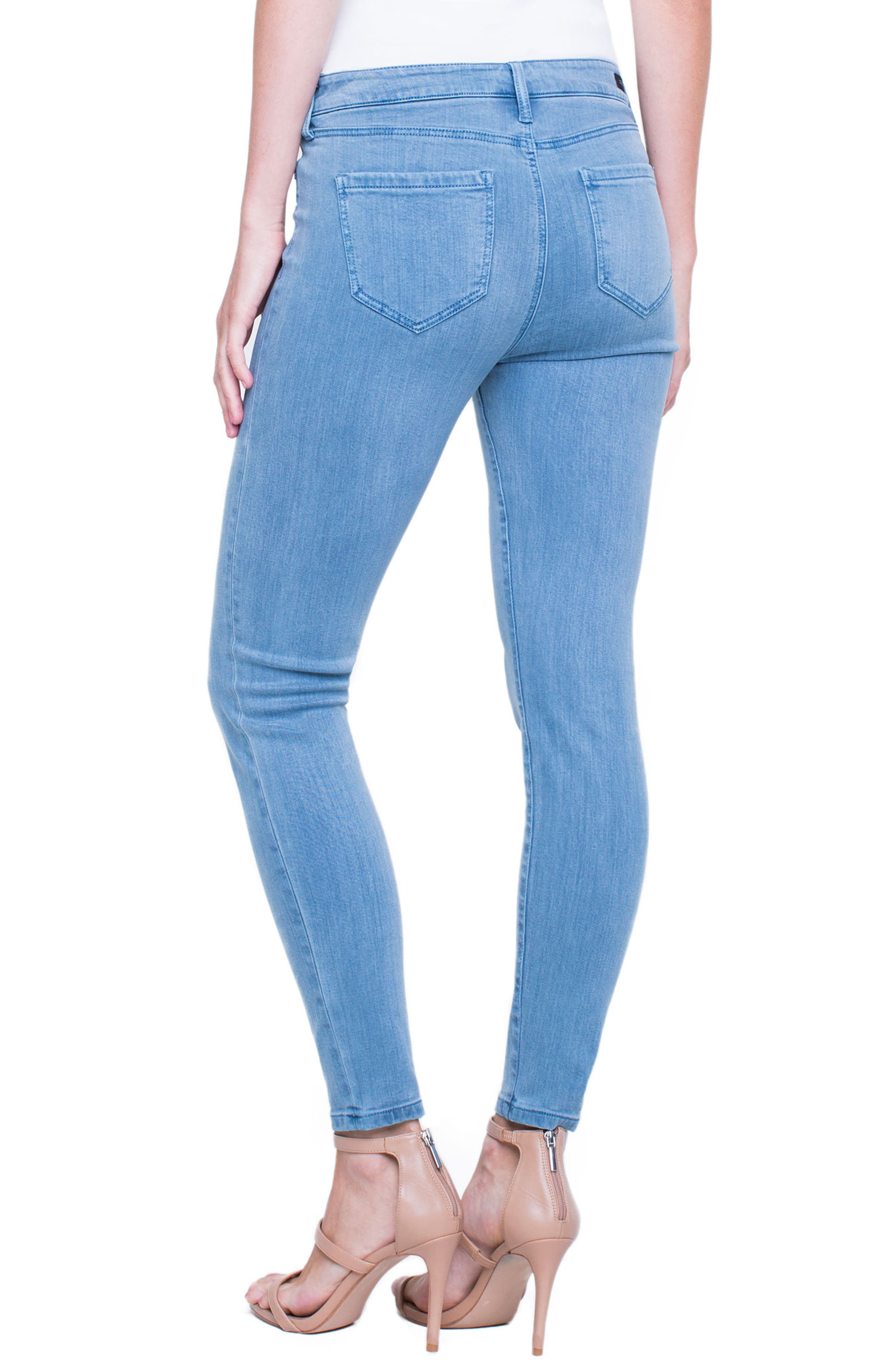 Penny Ankle Skinny Jeans,                             Alternate thumbnail 10, color,