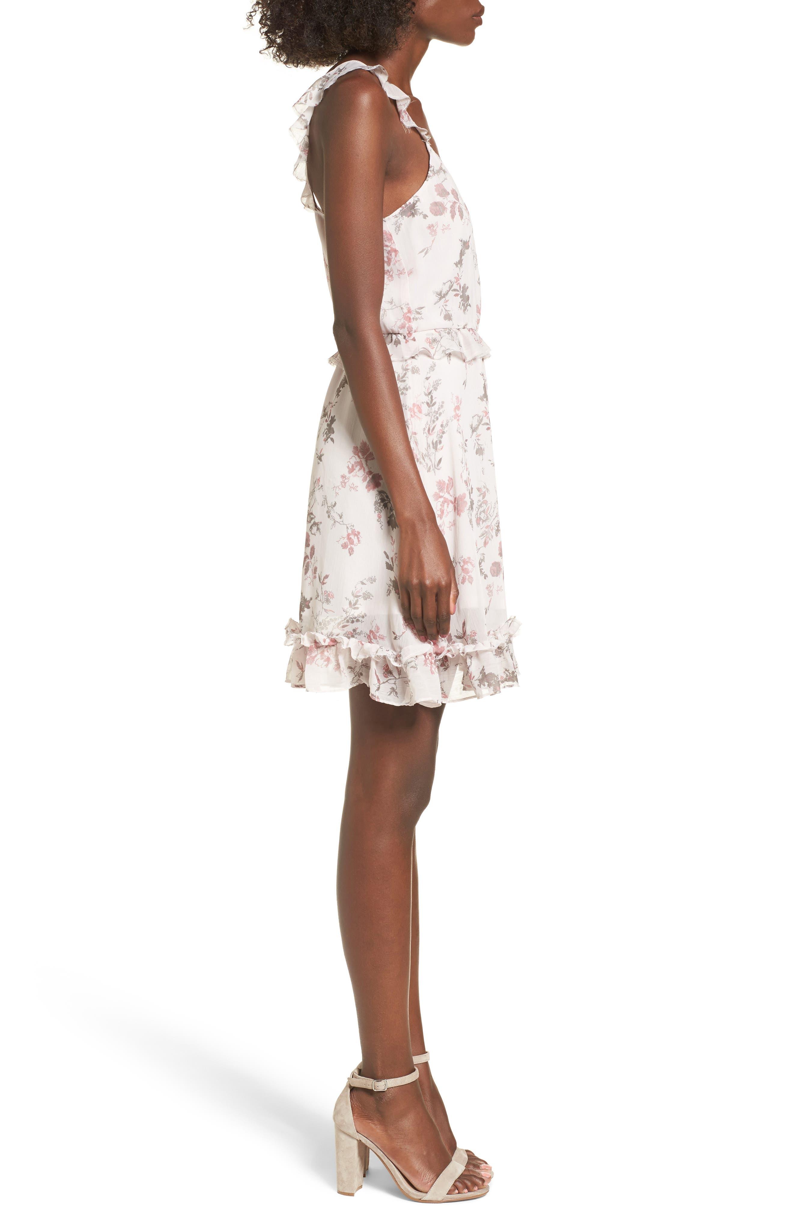 Ruffle Dress,                             Alternate thumbnail 3, color,                             680