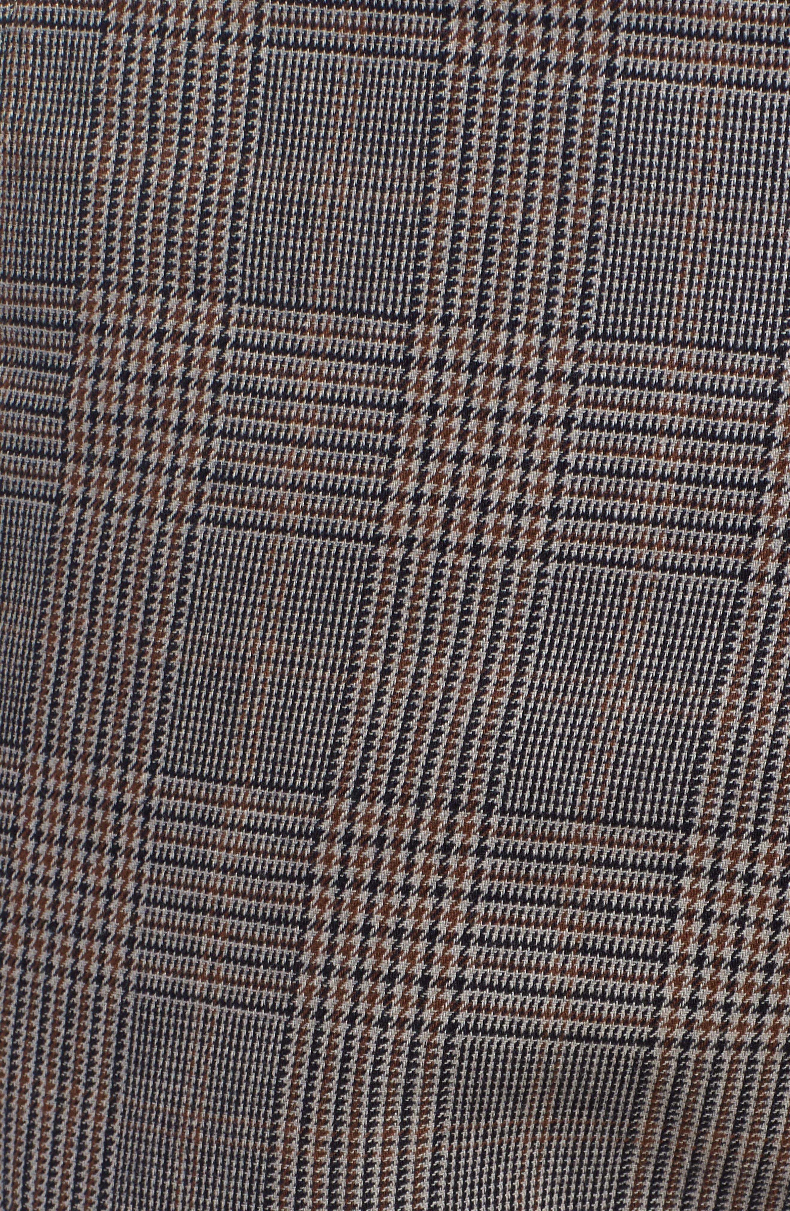 Straggler Glen Plaid Carpenter Pants,                             Alternate thumbnail 5, color,                             BLACK MULTI
